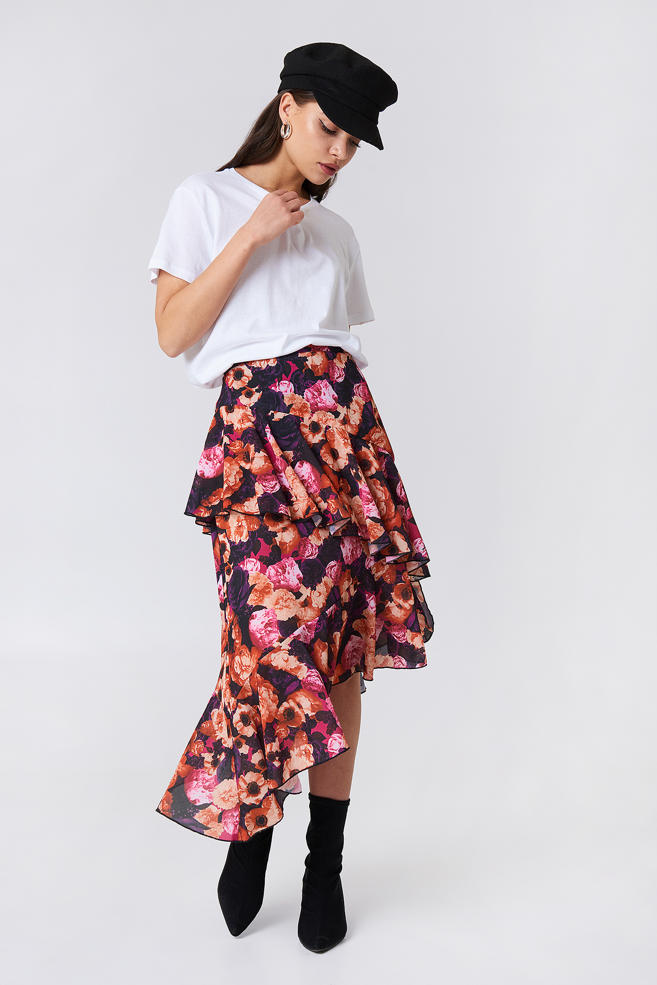 Double Layer Asymmetric Skirt NA-KD.COM