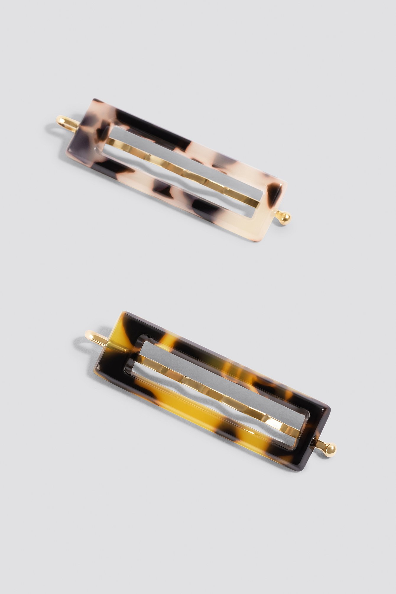 Double Pack Mini Resin Hair Pins NA-KD.COM