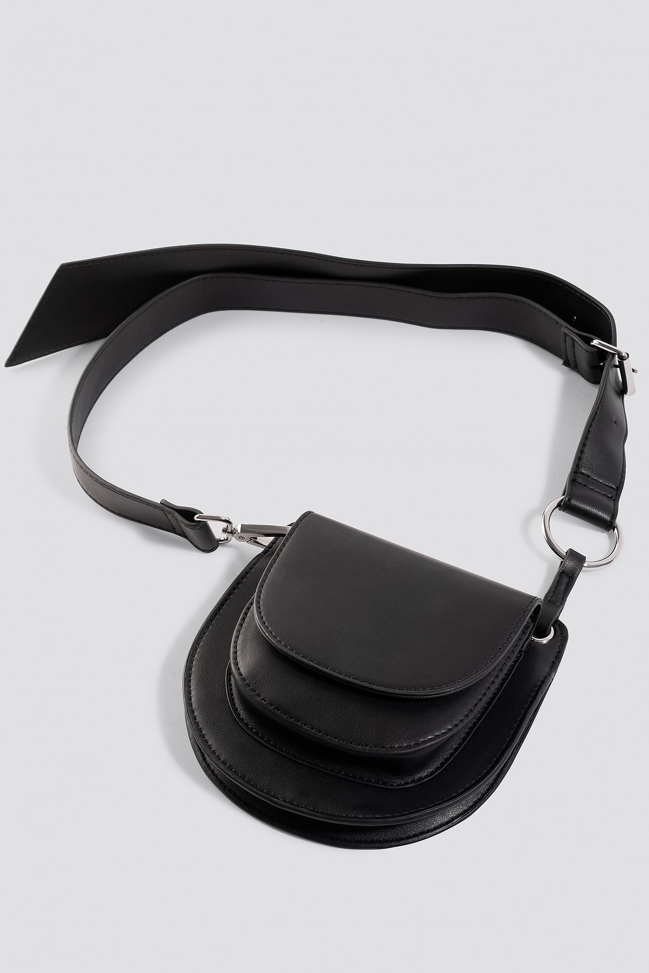 Double Pocket Belted Bag NA-KD.COM