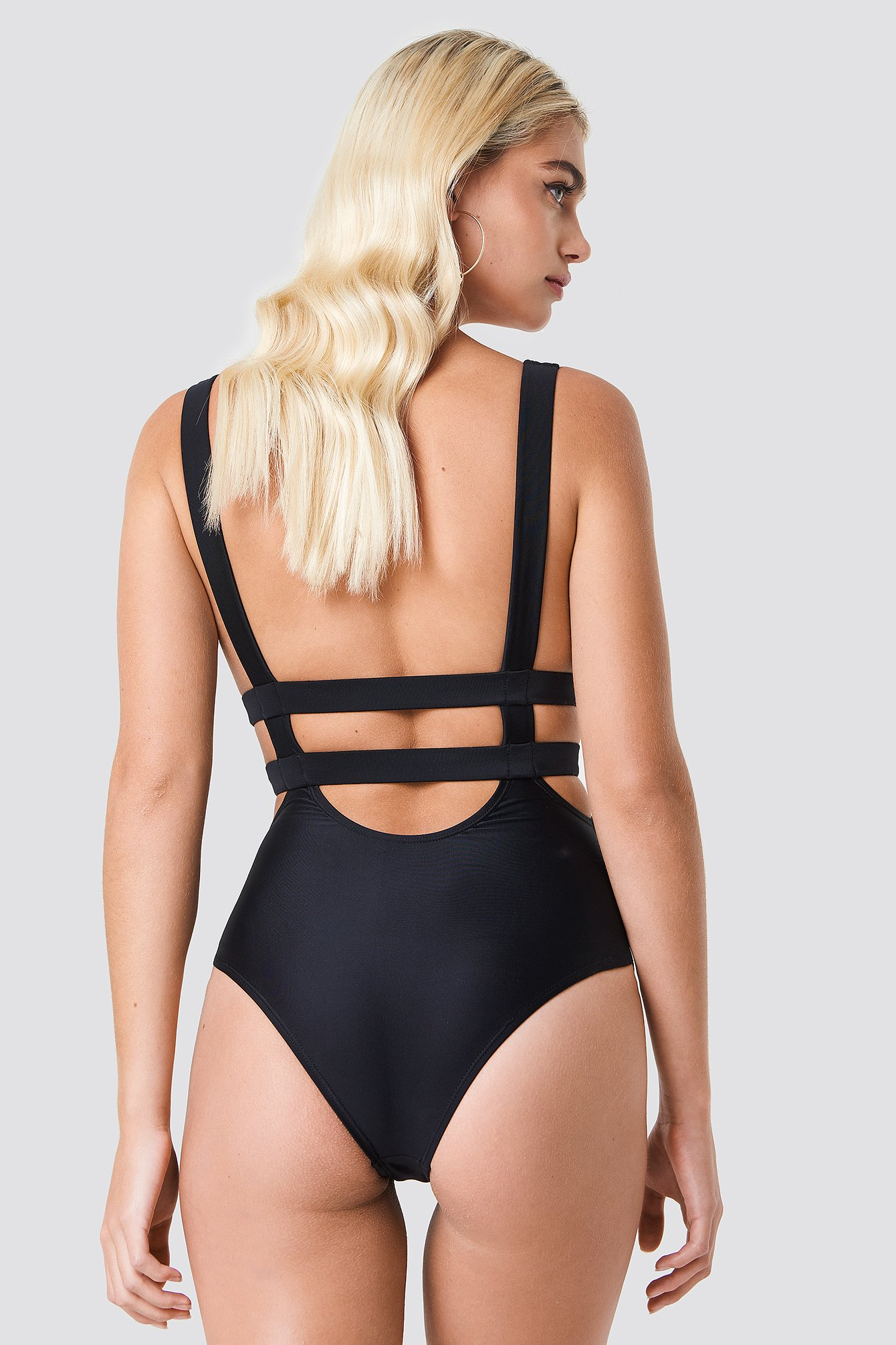 Double Strap Swimsuit NA-KD.COM