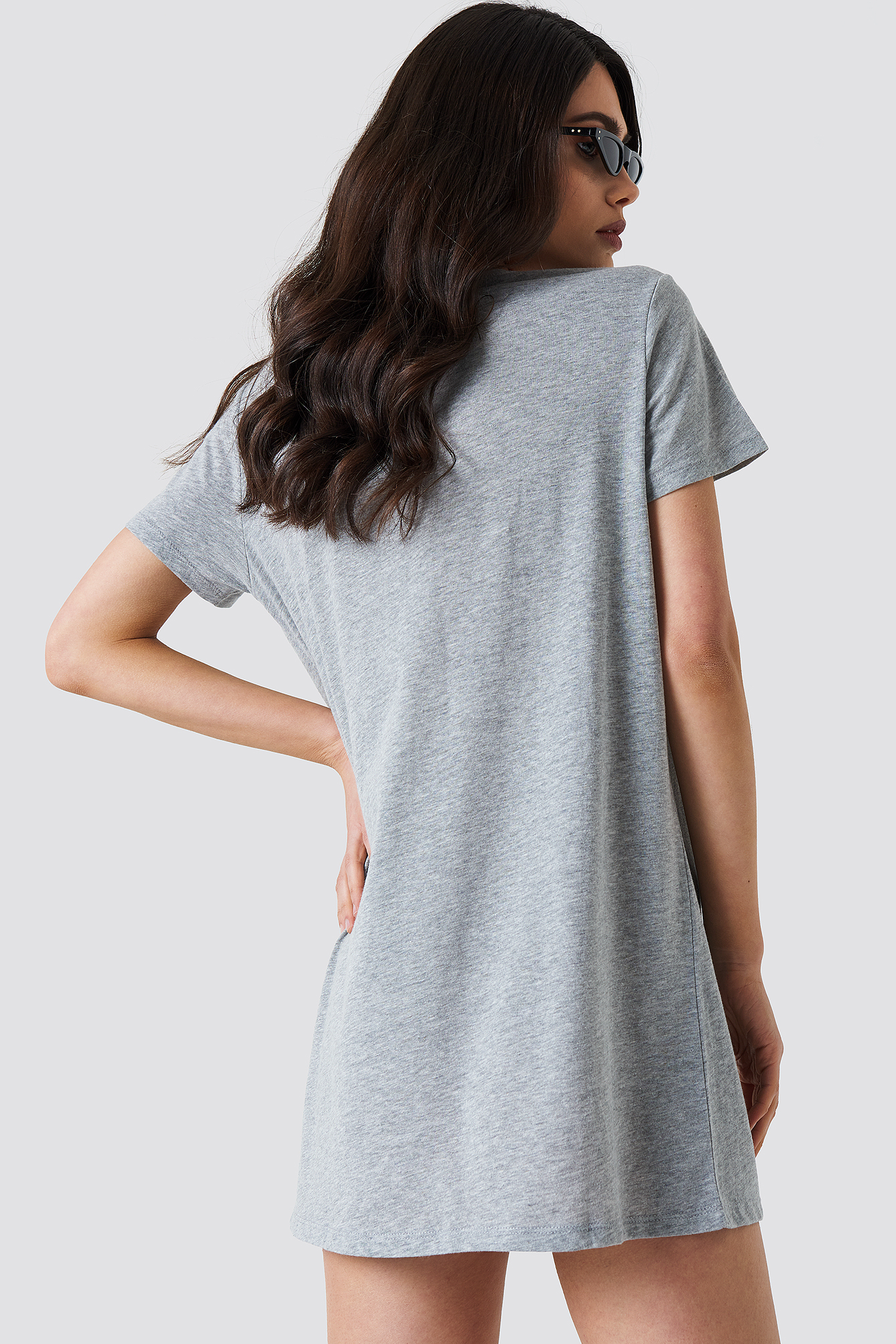 Double X T-shirt Dress NA-KD.COM