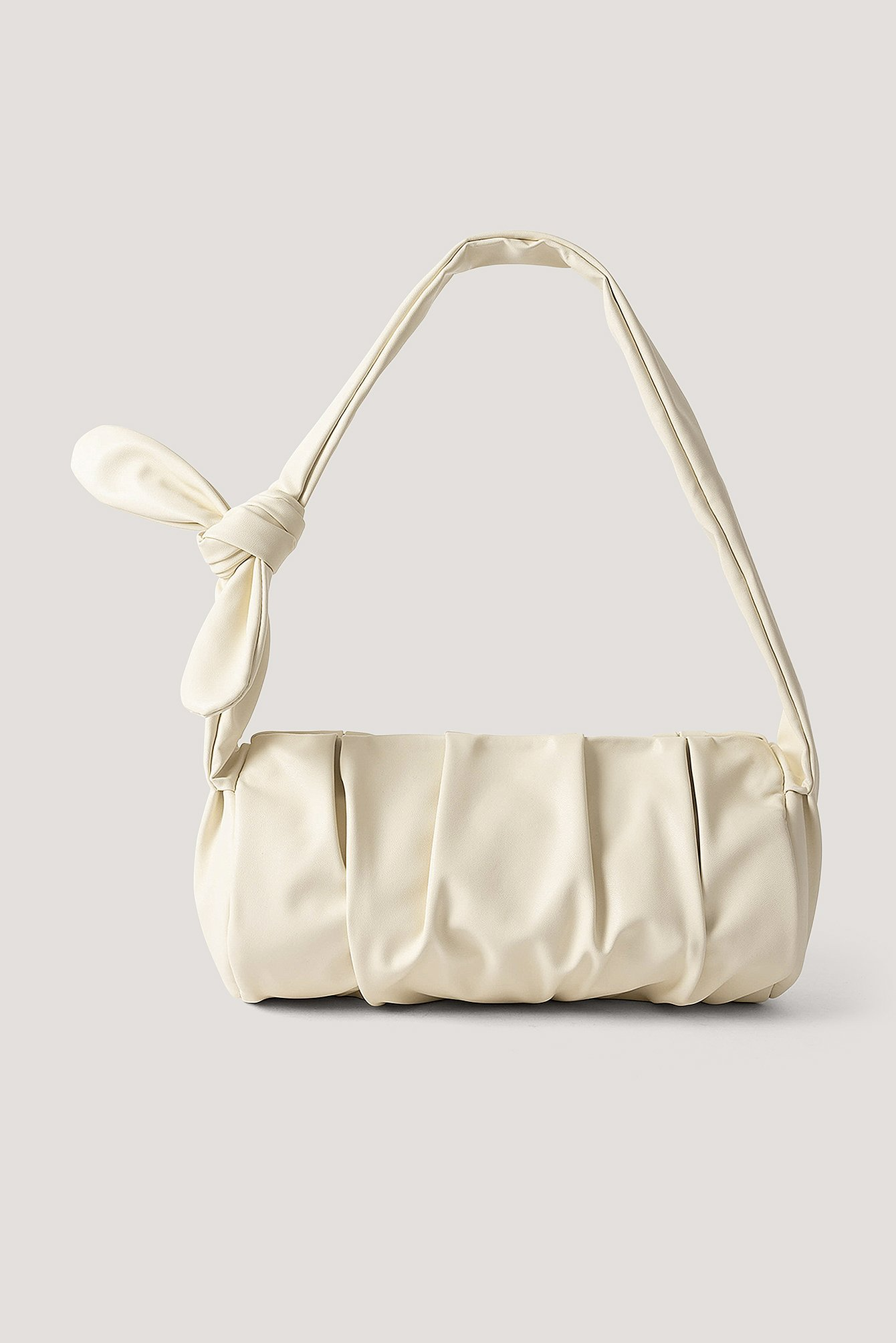 NA-KD Accessories Draped Knot Strap Bag - Offwhite