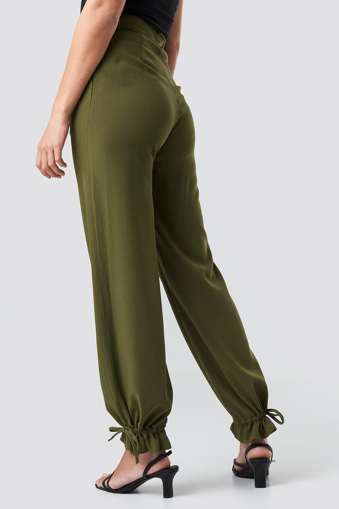 Drawstring Detail Pants NA-KD.COM