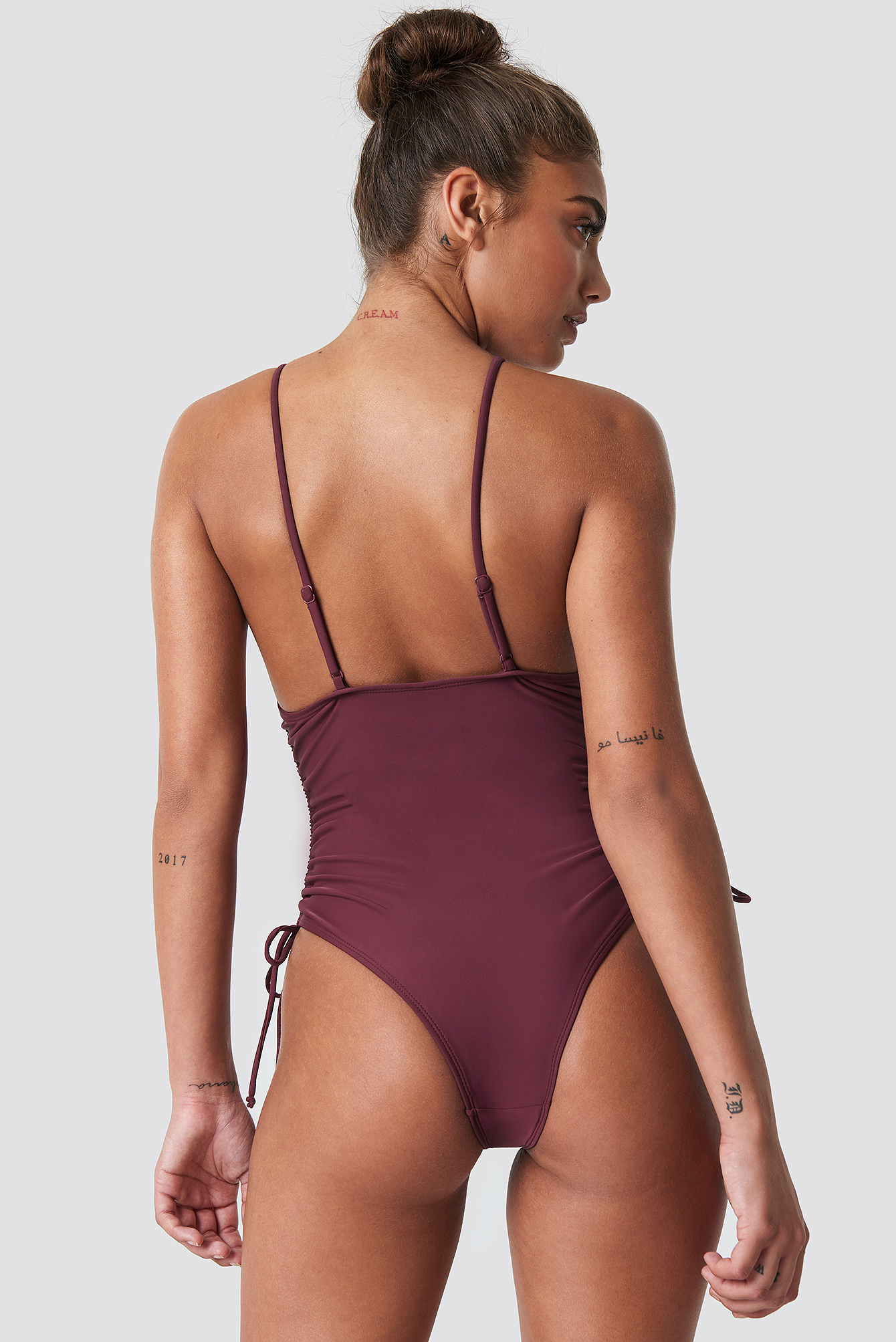 Drawstring Side Swimsuit NA-KD.COM