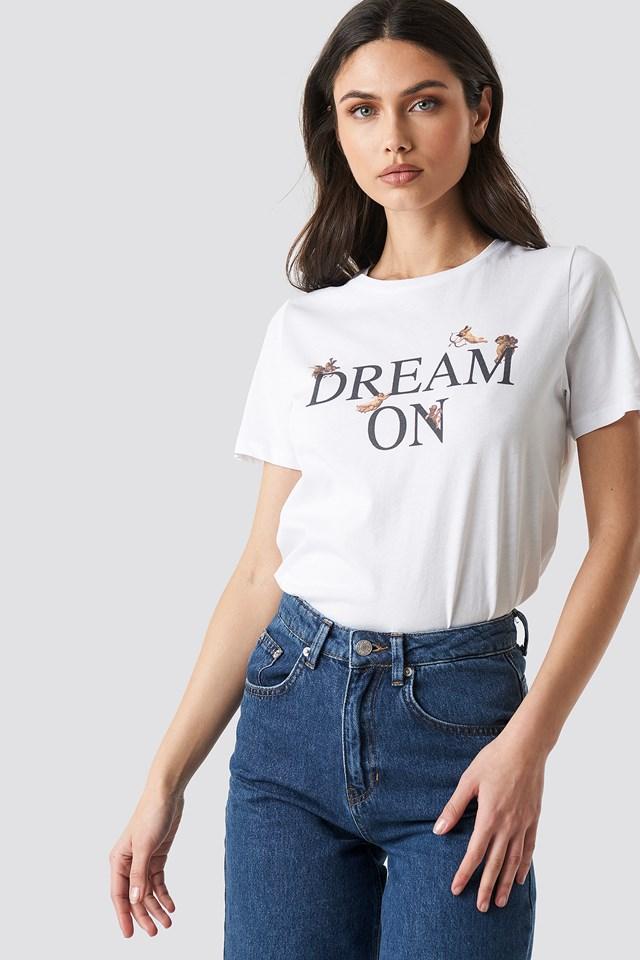 Dream On Tee NA-KD Trend