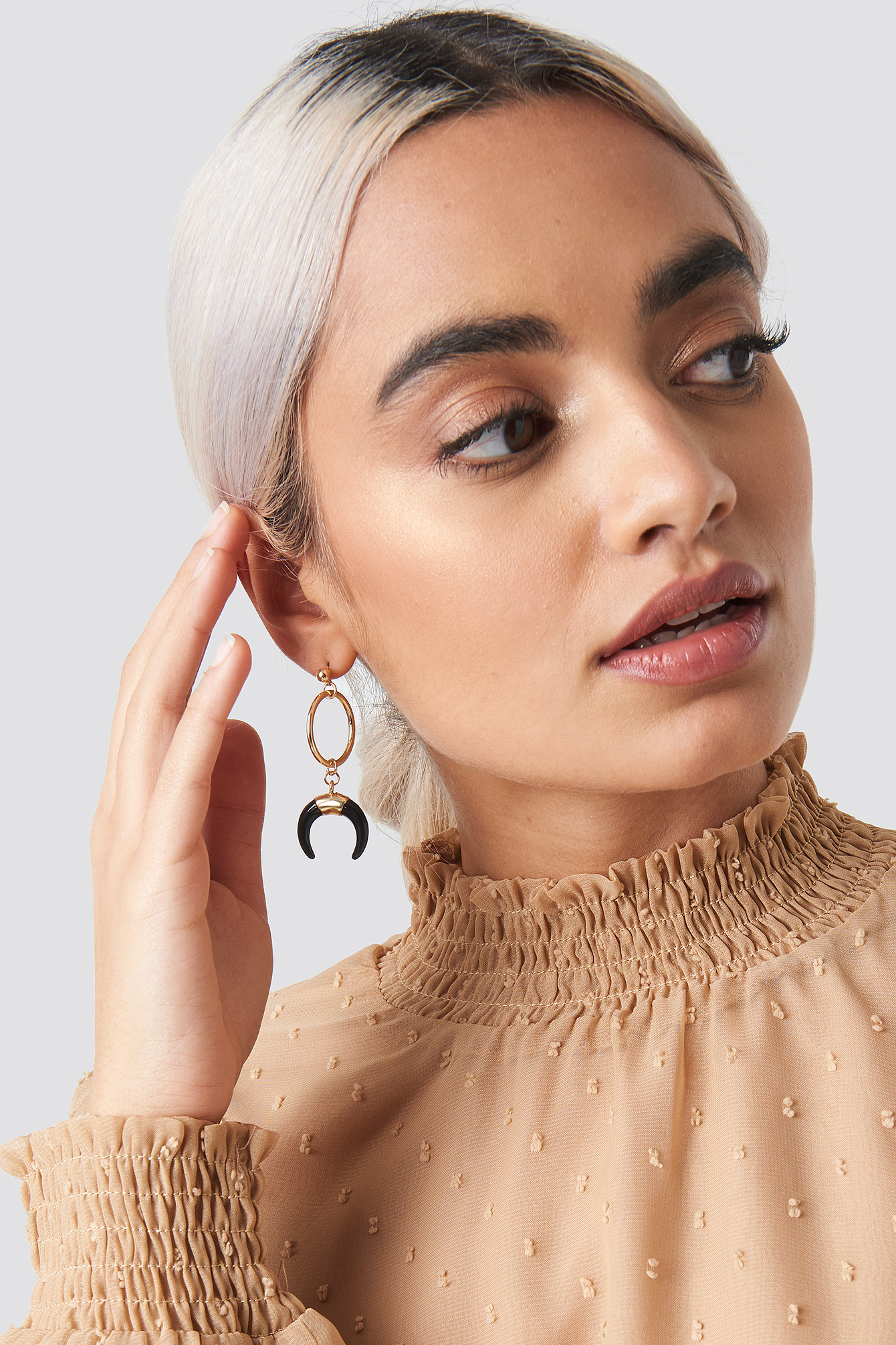 Drop Crescent Earrings NA-KD.COM