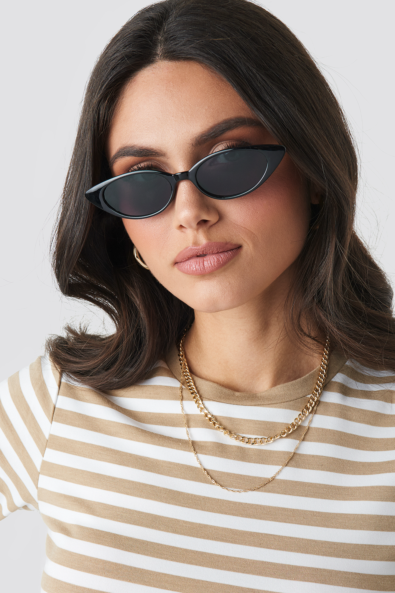 Drop Shape Cat Eye Sunglasses NA-KD.COM