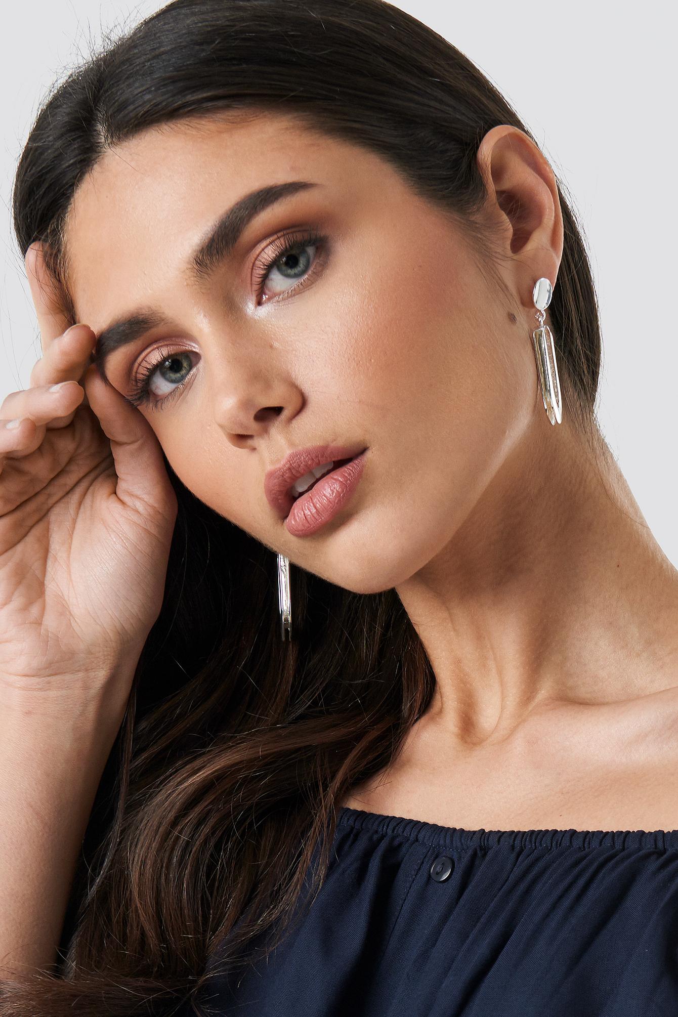 Drop U Shape Earrings NA-KD.COM