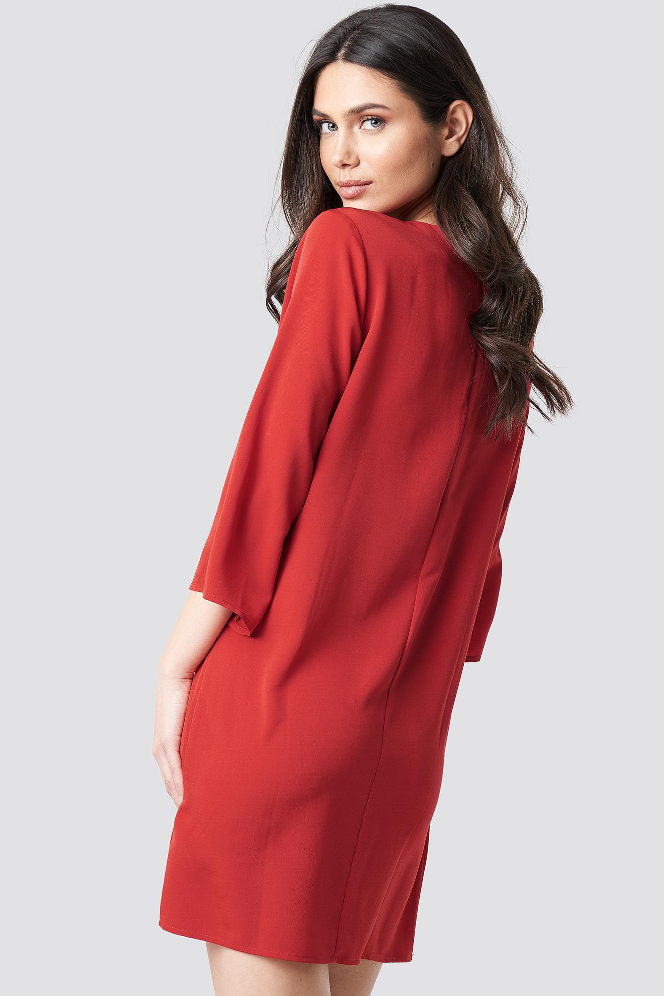 Drop Waist Mini Dress NA-KD.COM