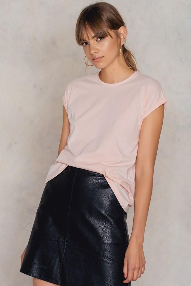 Easy Tiger T-shirt Light Pink