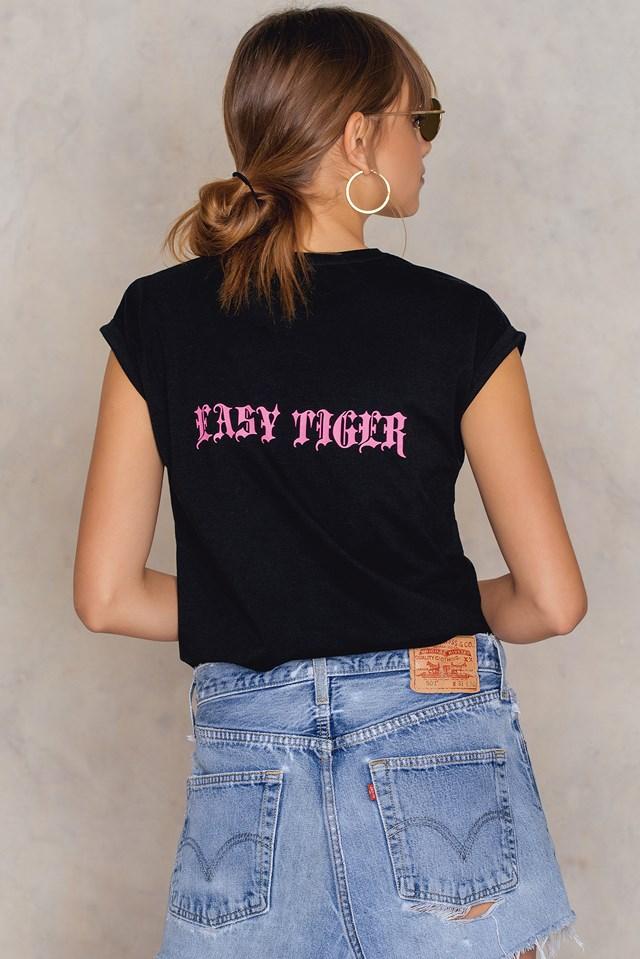 Easy Tiger T-shirt Black
