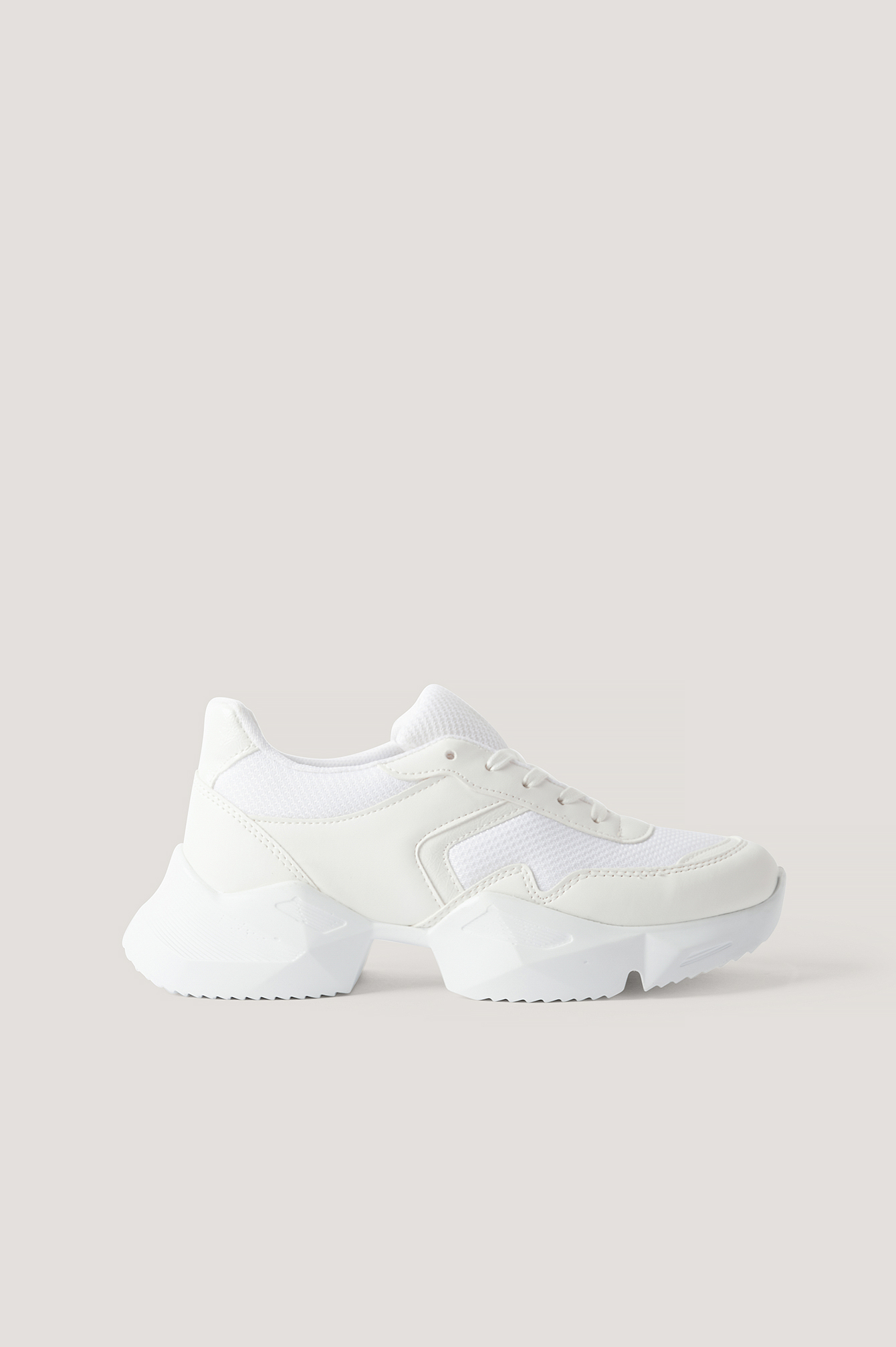 na-kd shoes -  Chunky Sneakers - White