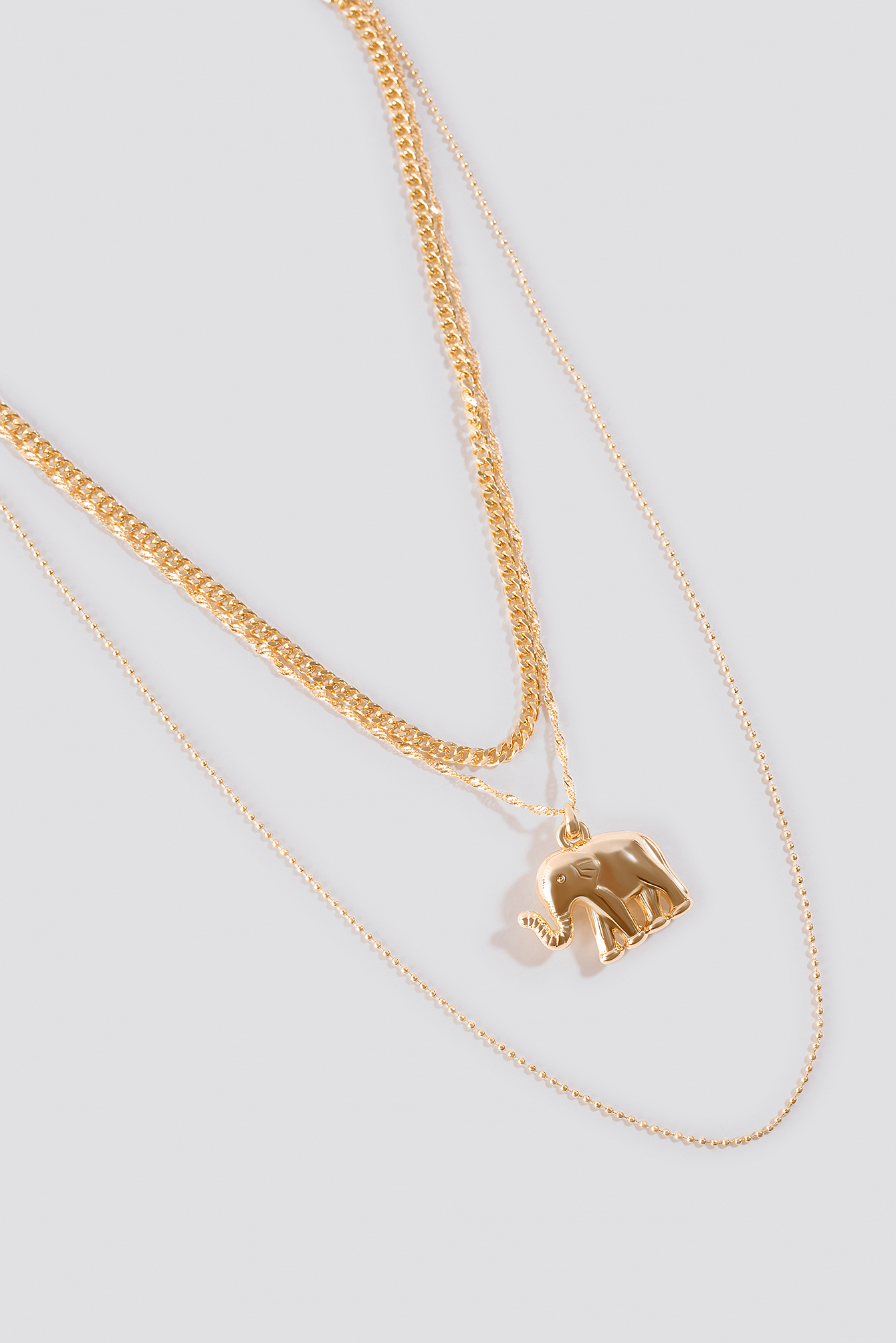 Elephant Pendant Necklaces NA-KD.COM
