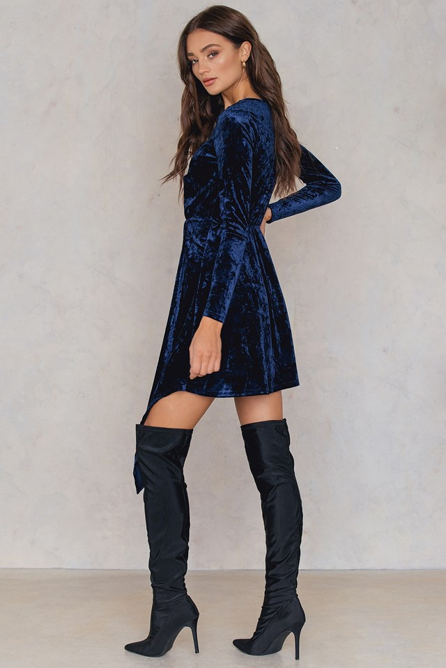 Elvira Dress Dark Blue