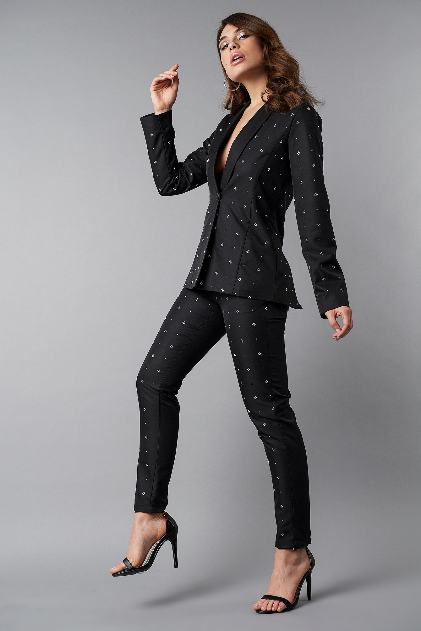 Embellished Suit Pants NA-KD.COM