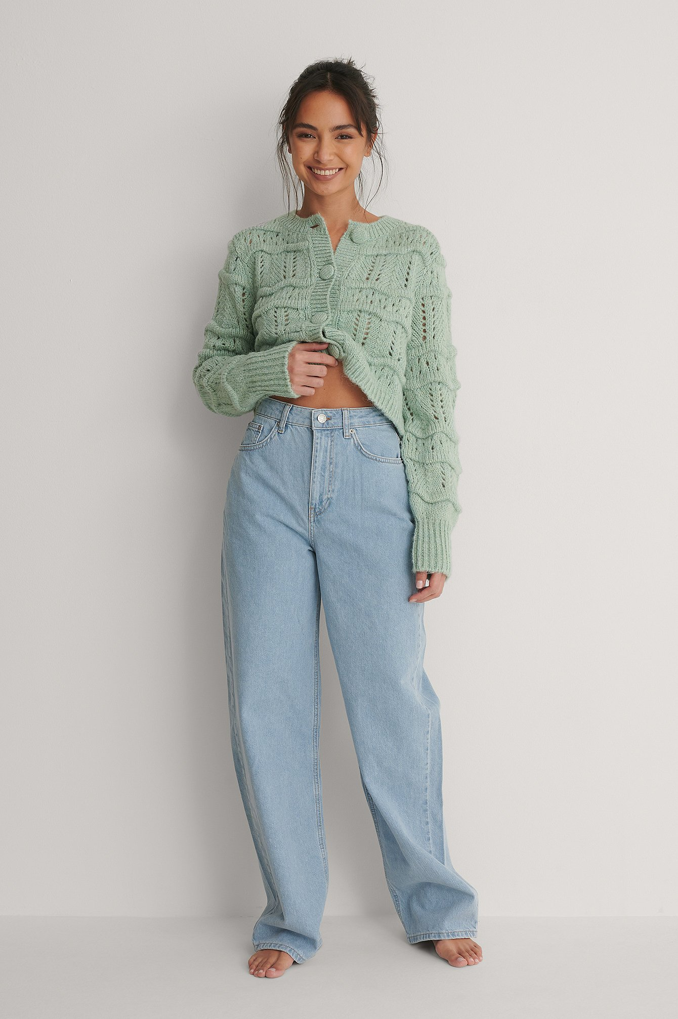 Vintage Blue Extra Wide Leg Denim