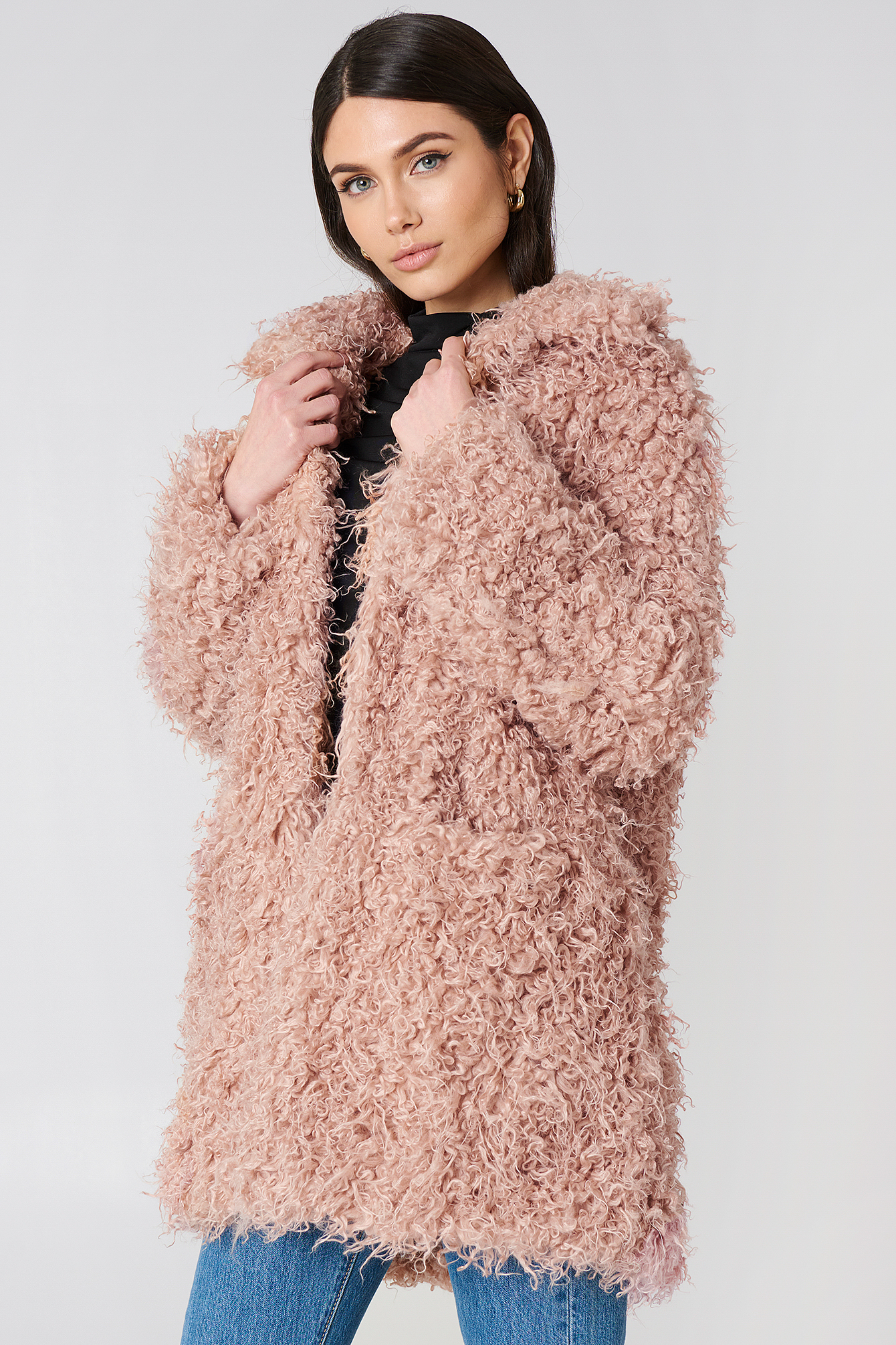 Faux Fur Coat NA-KD.COM