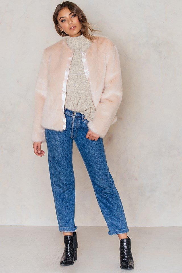 Fauxe Fur Light Pink