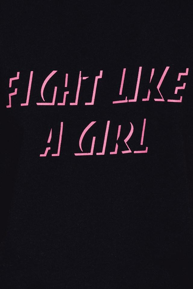 Fight Like A Girl Tee NA-KD.COM
