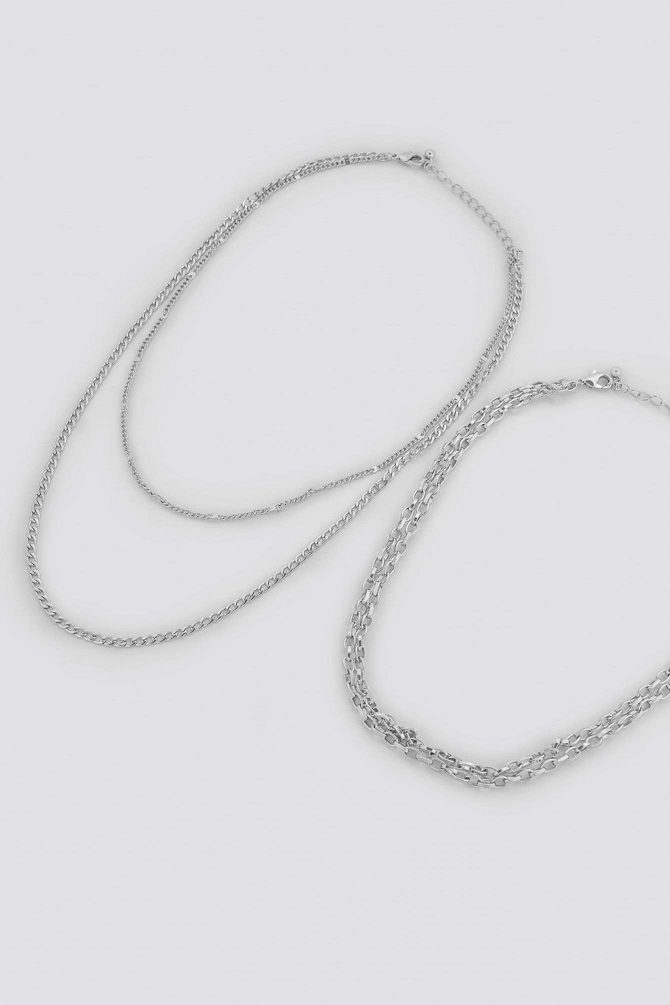 Fine Layered Chain Necklaces NA-KD.COM