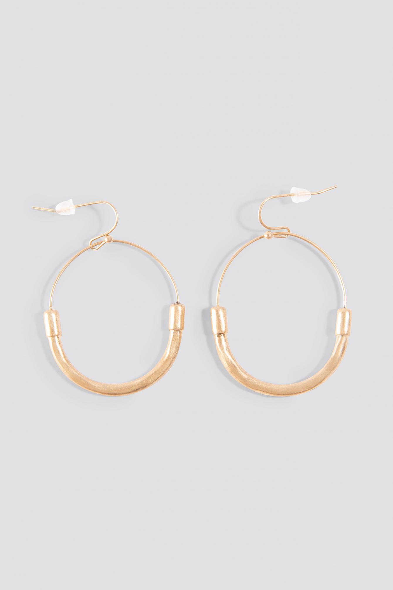 Fine Line Earrings NA-KD.COM