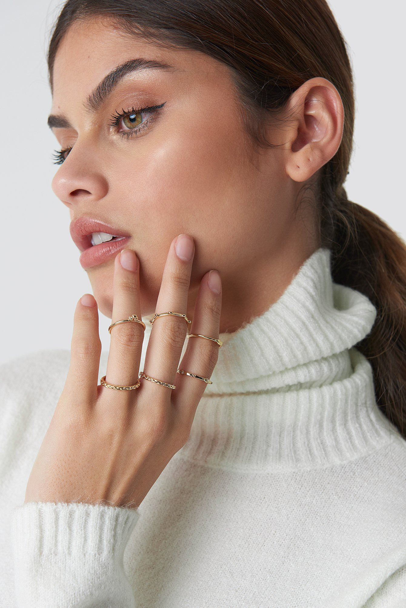 Fine Stacking Rings NA-KD.COM