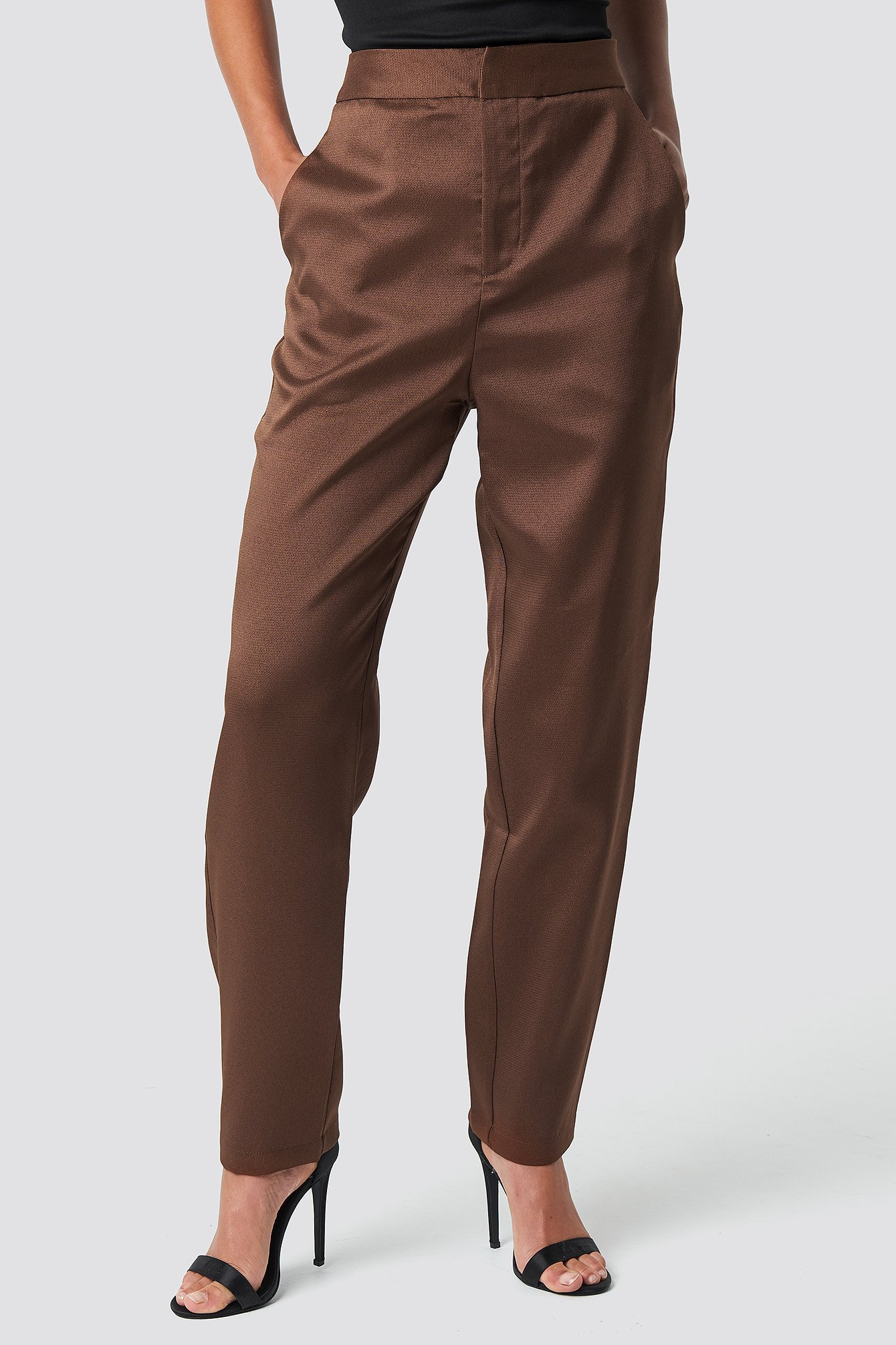 Fitted Suit Pants NA-KD.COM
