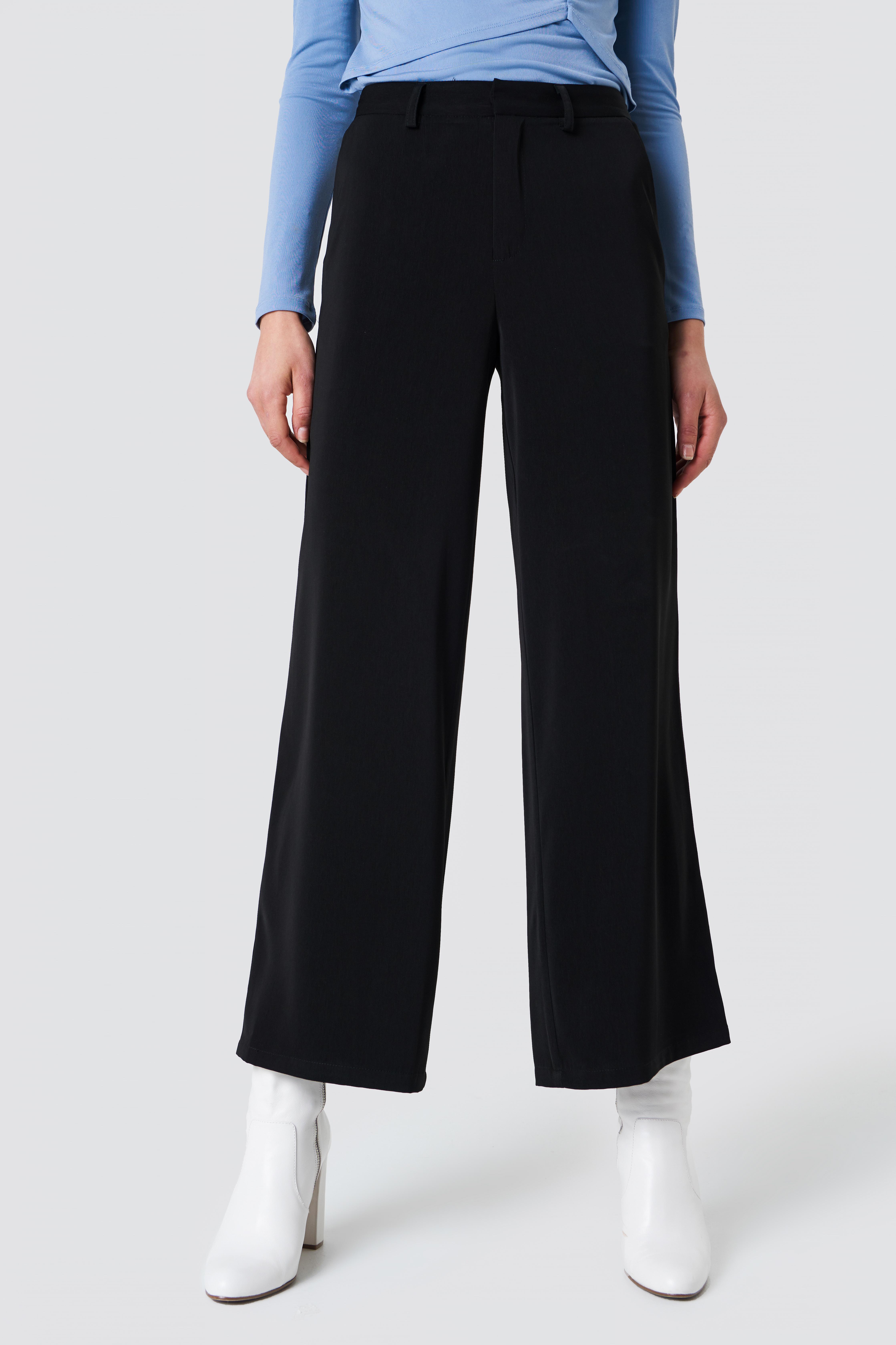 Flared Shiny Suit Pants NA-KD.COM