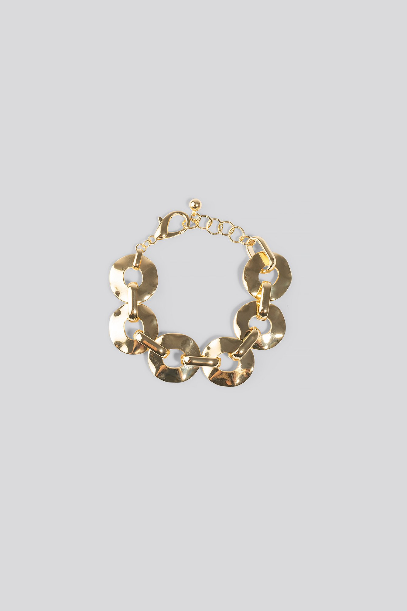 na-kd accessories -  Flat Chain Bracelet - Gold