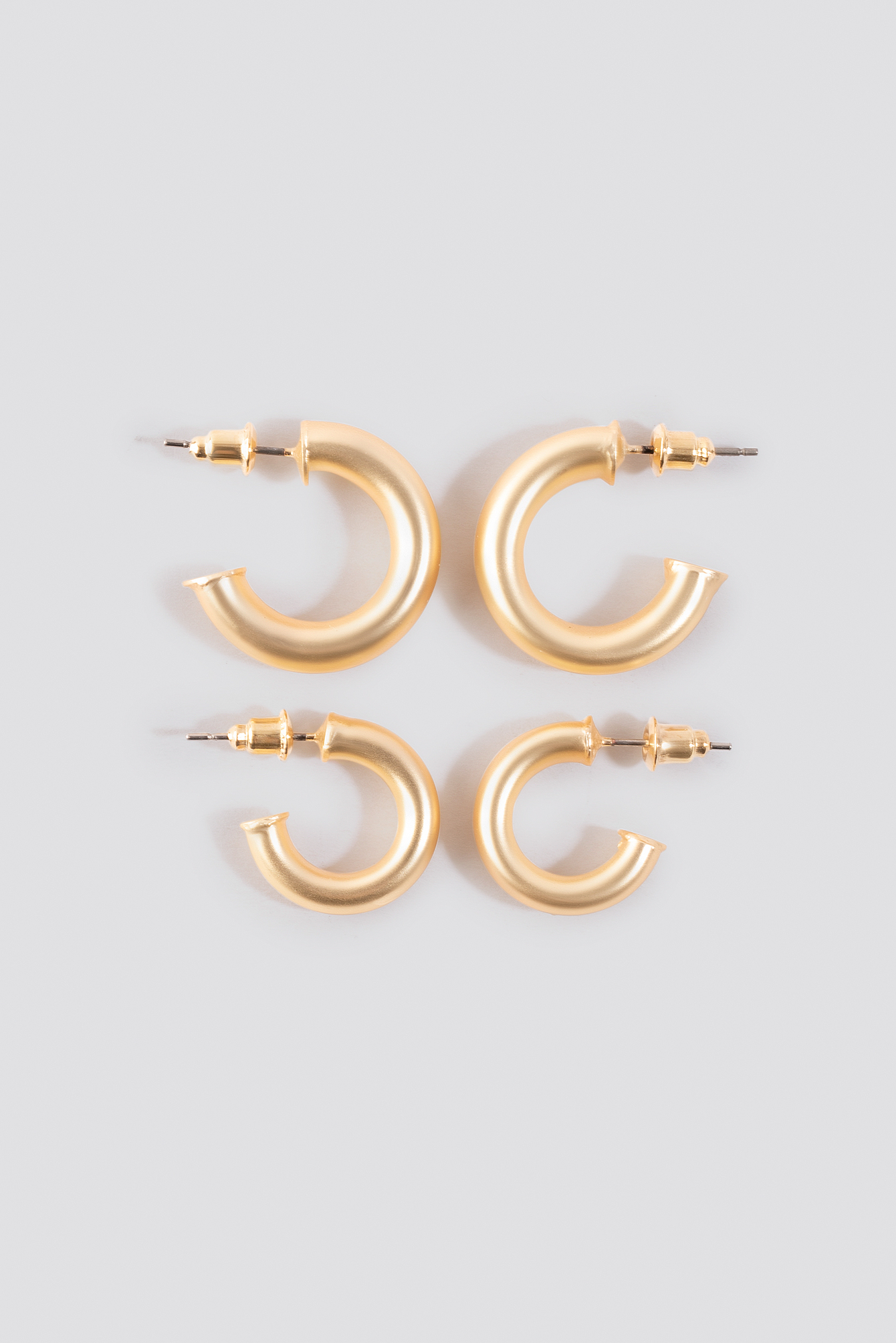 Flat End Mini Hoops (Double Pack) NA-KD.COM
