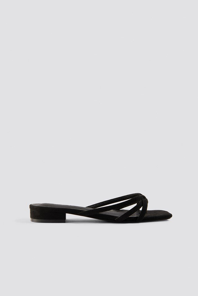 Flat Strappy Sandals NA-KD Shoes