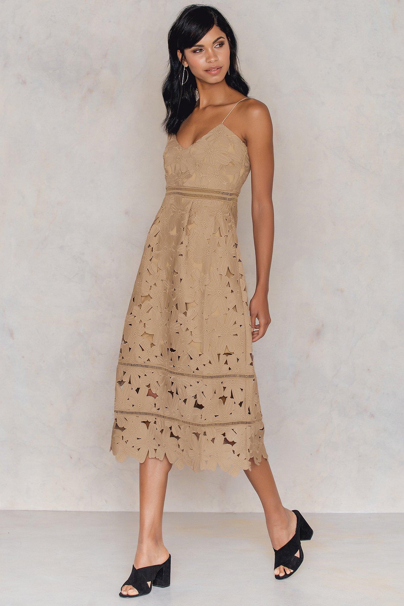 Wide Sleeve Off Shoulder Dress | na-kd.com