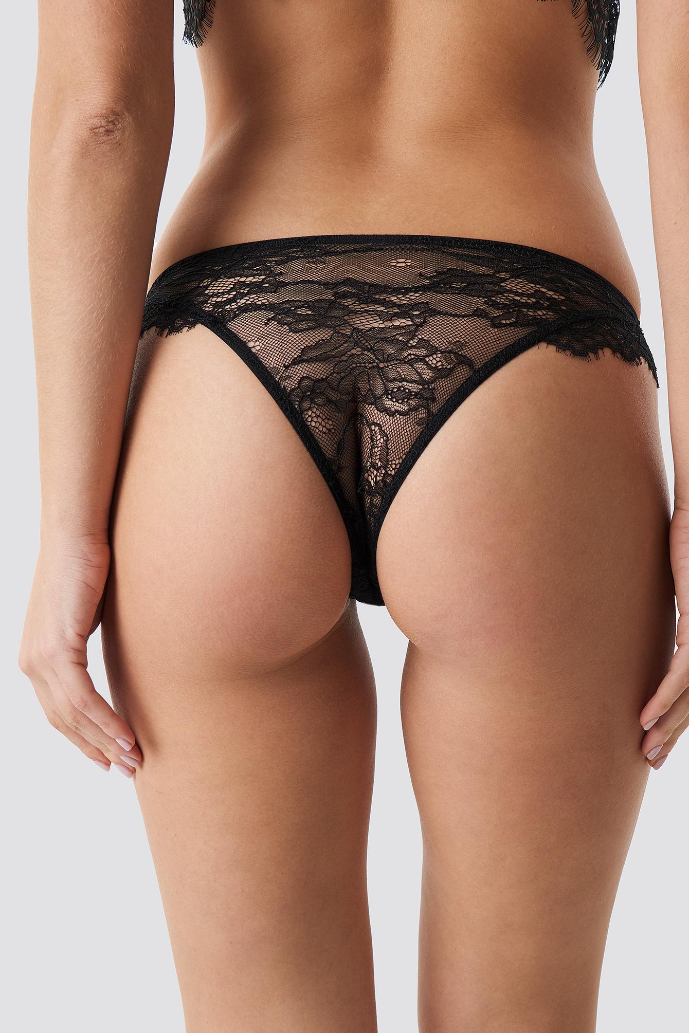 Flounce Lace Panty NA-KD.COM
