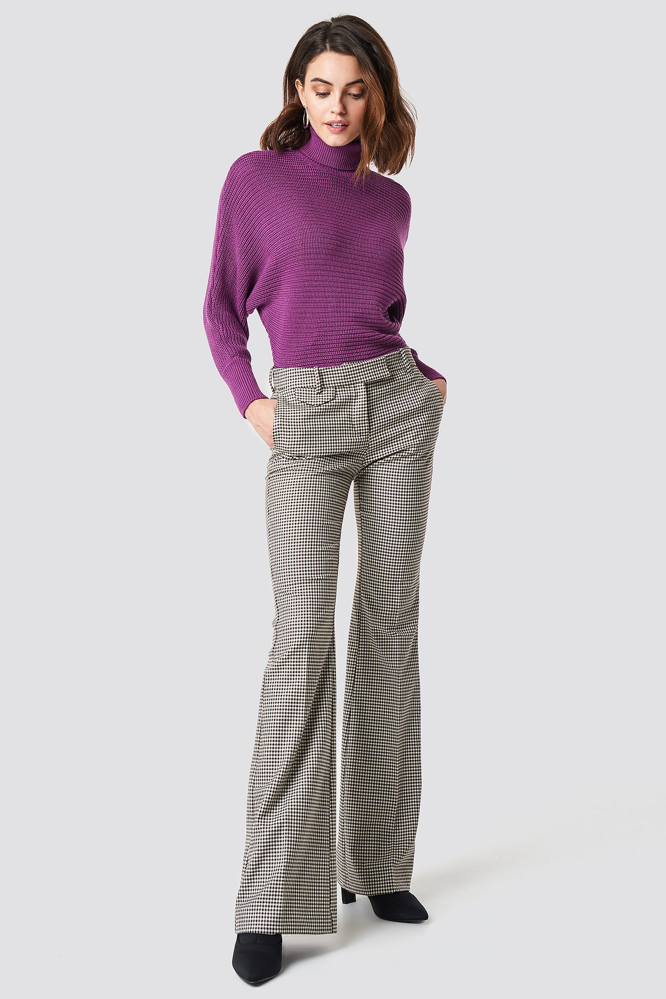 Folded Knitted Sweater NA-KD.COM