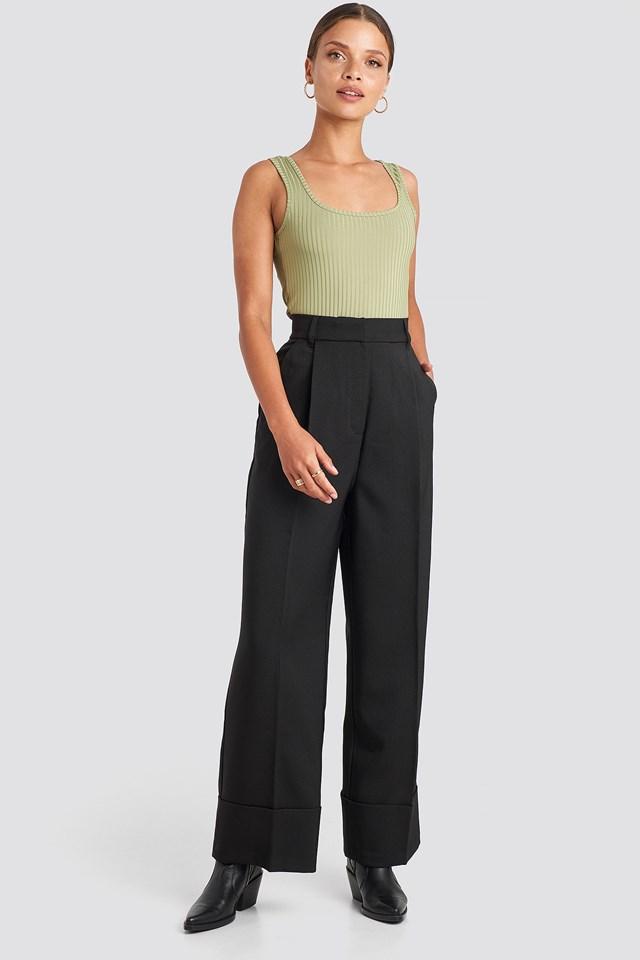Folded Pants NA-KD Trend