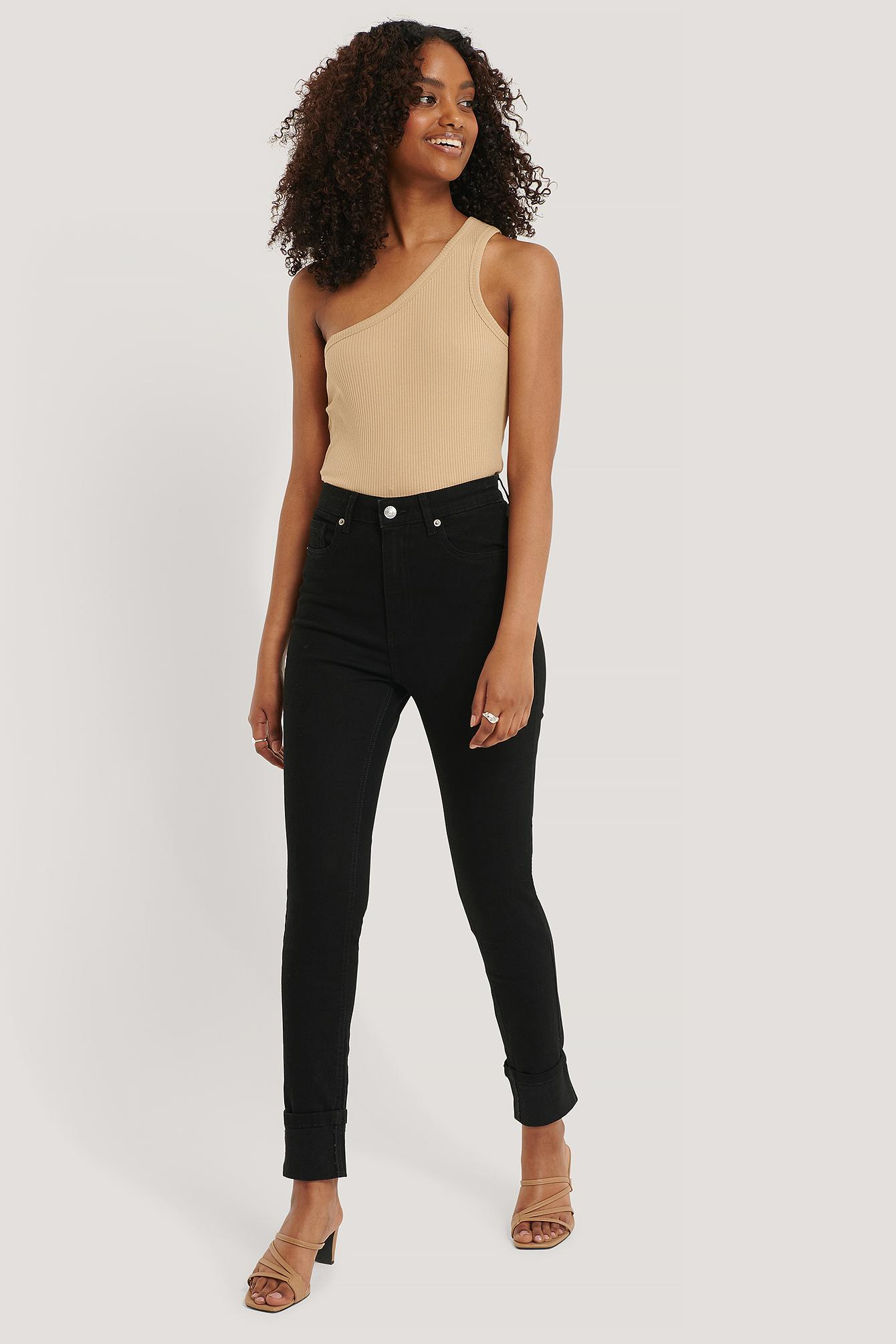 NA-KD Jeans - Black