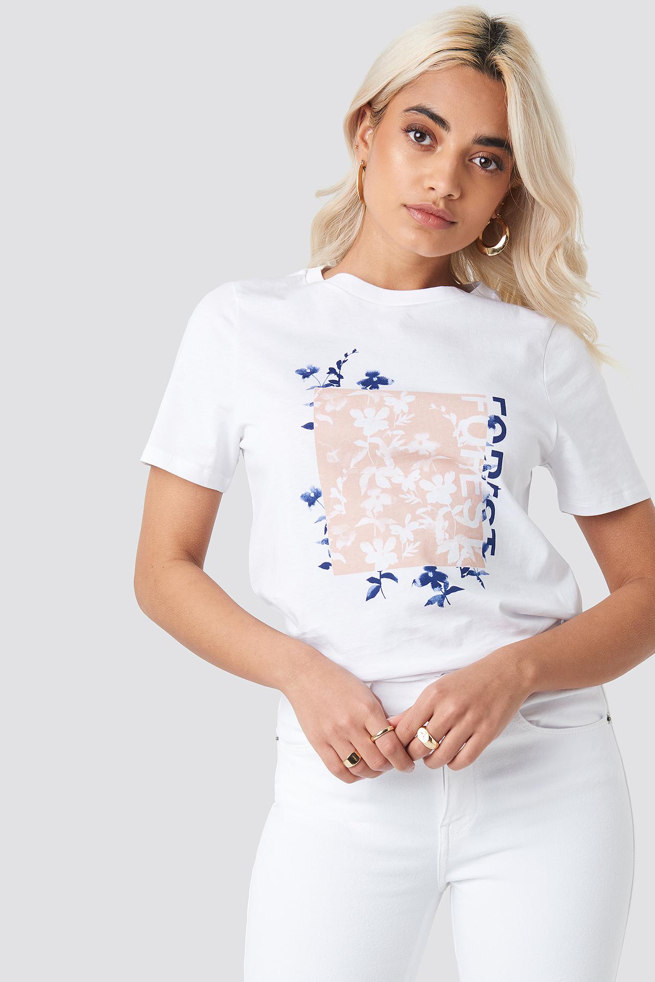Forest T-shirt NA-KD.COM