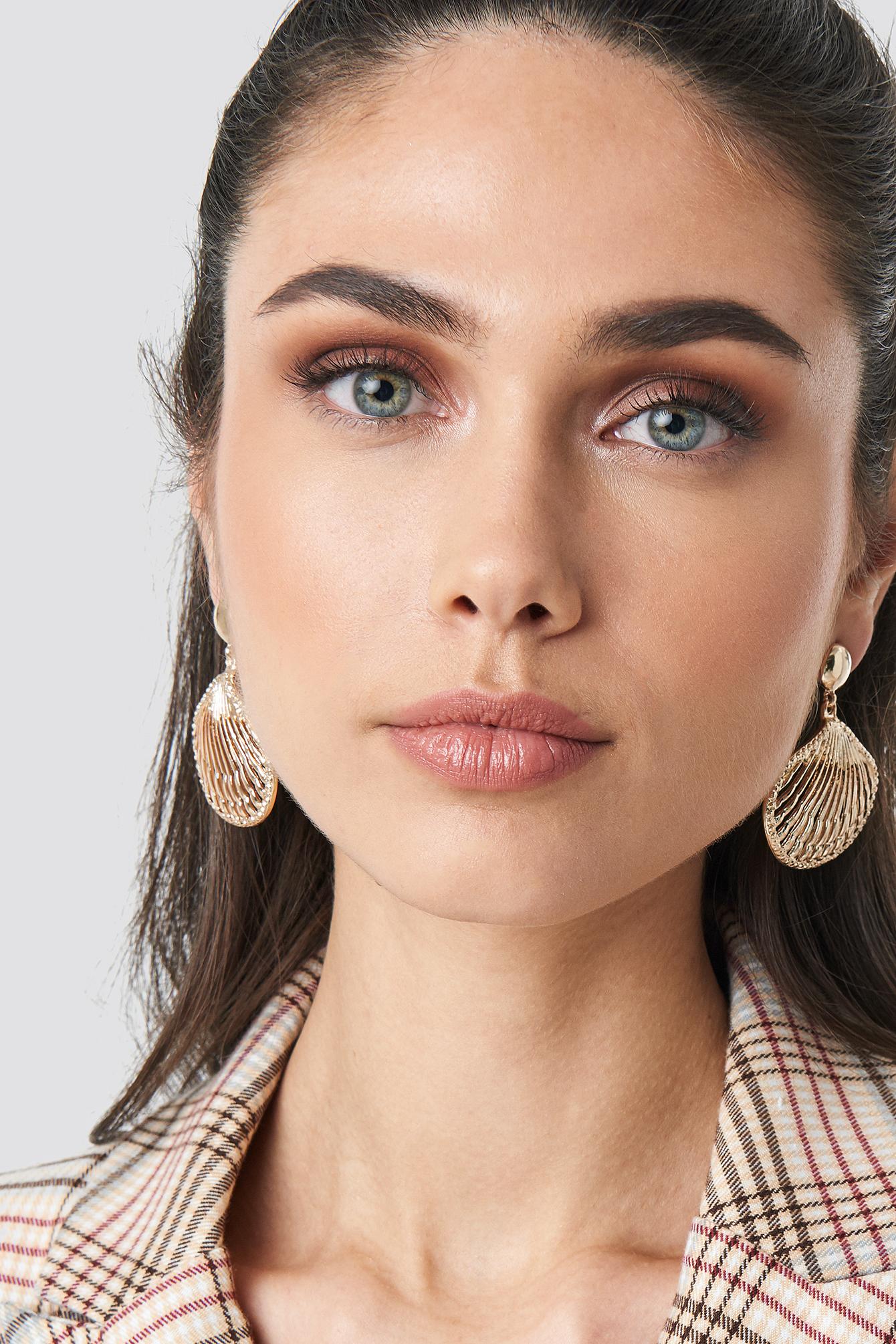 Framed Shell Earrings NA-KD.COM