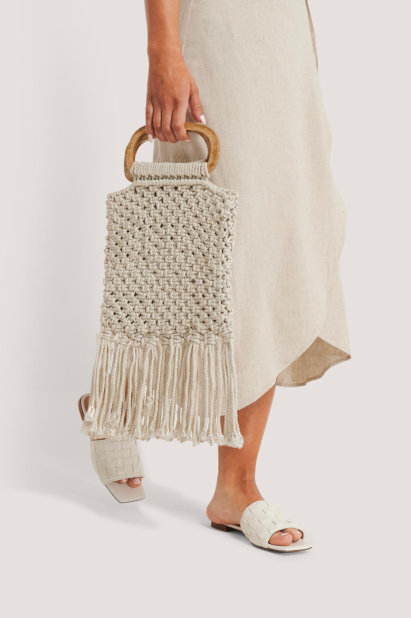 na-kd accessories -  Kleine Tasche - Beige