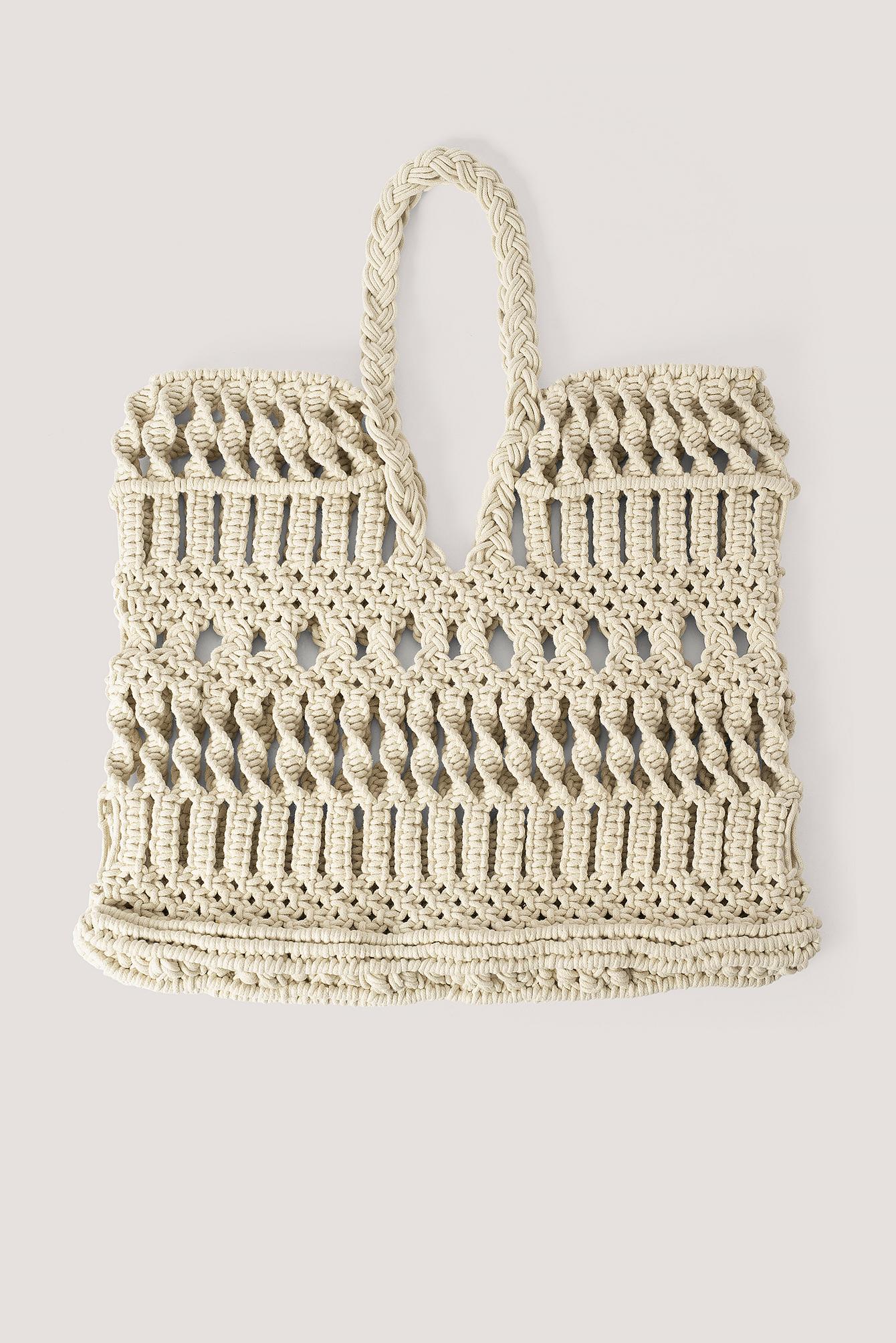 na-kd accessories -  Einkaufstasche - Beige