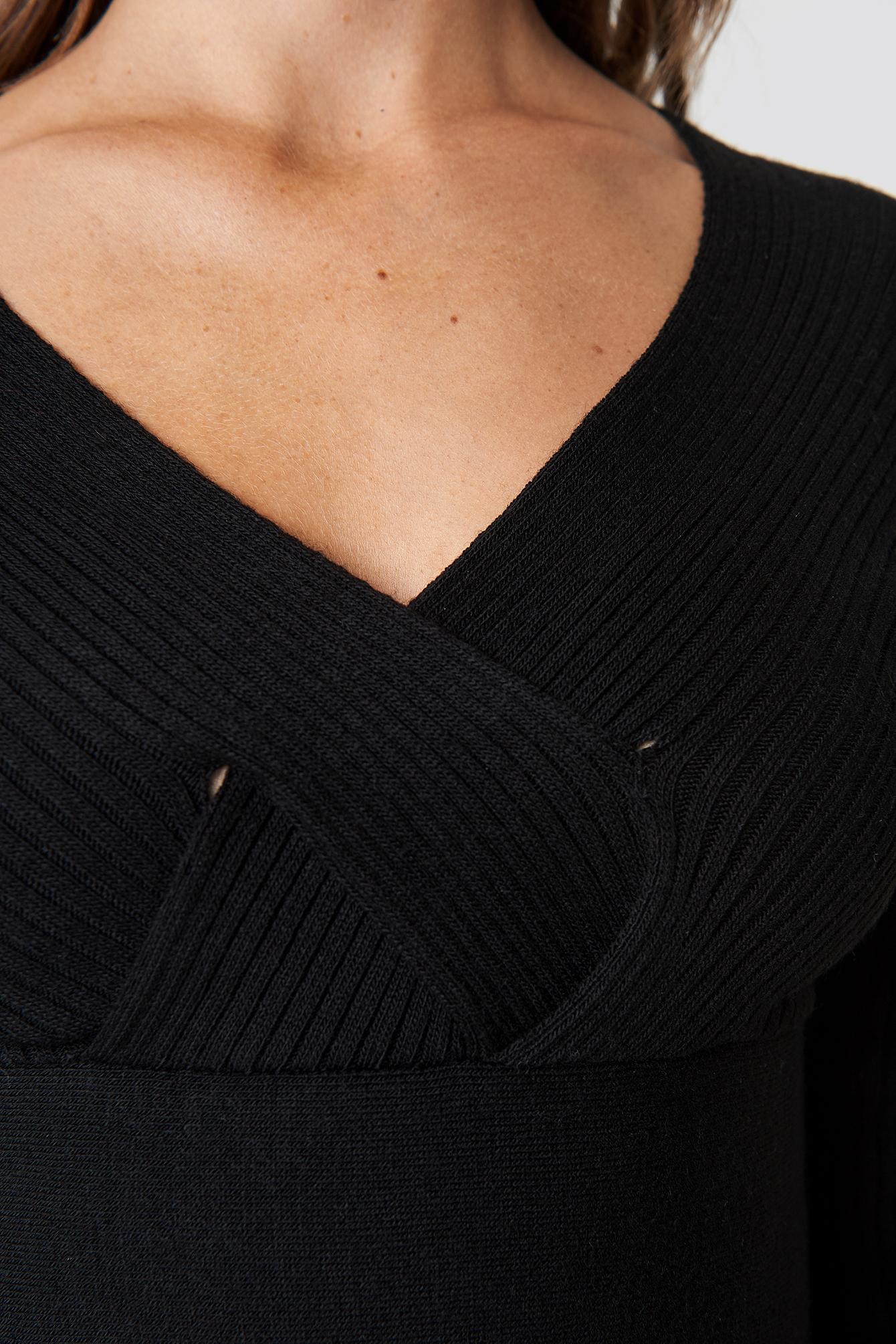 Krótki sweter NA-KD.COM