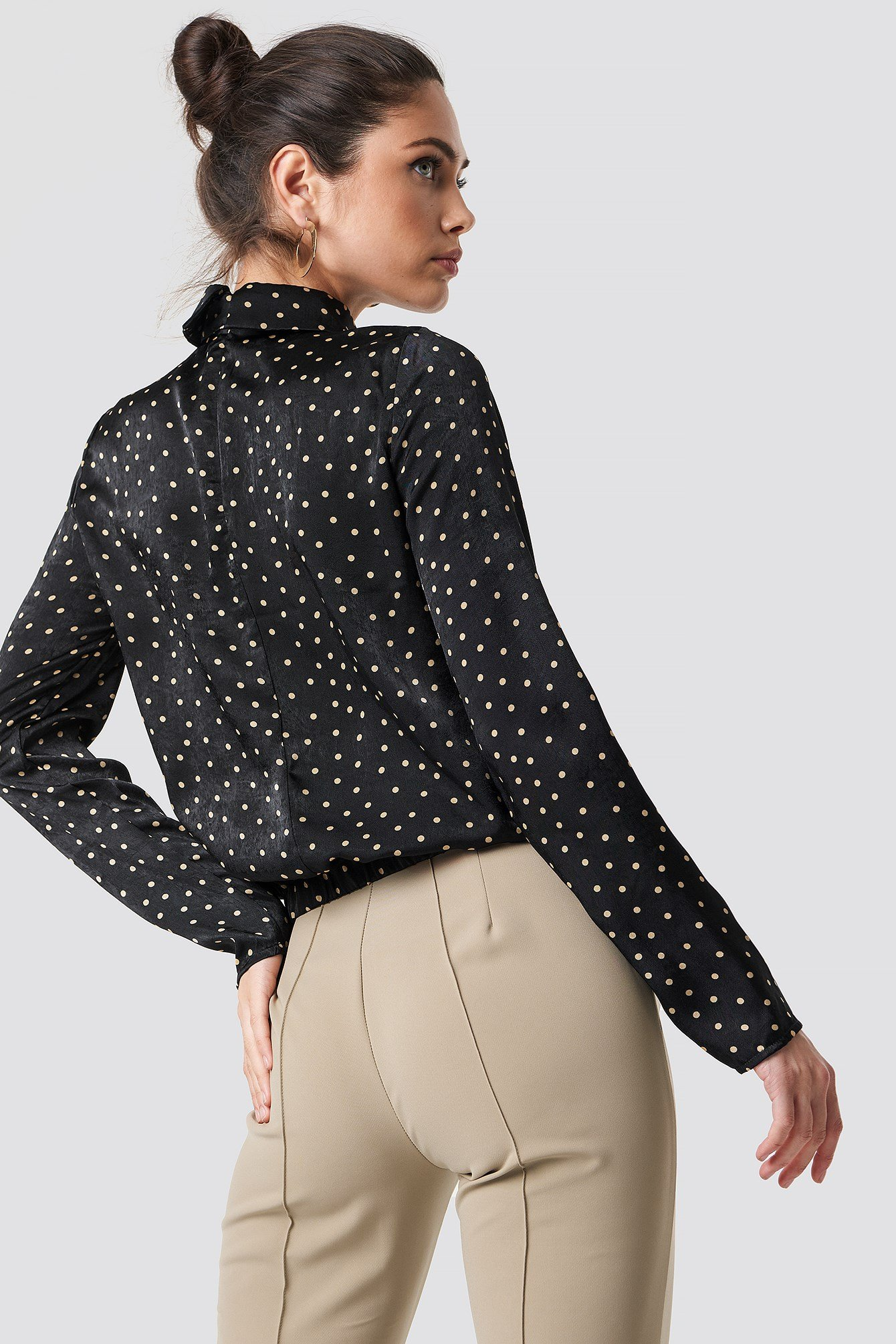 Front Cut Out Dotted Top NA-KD.COM