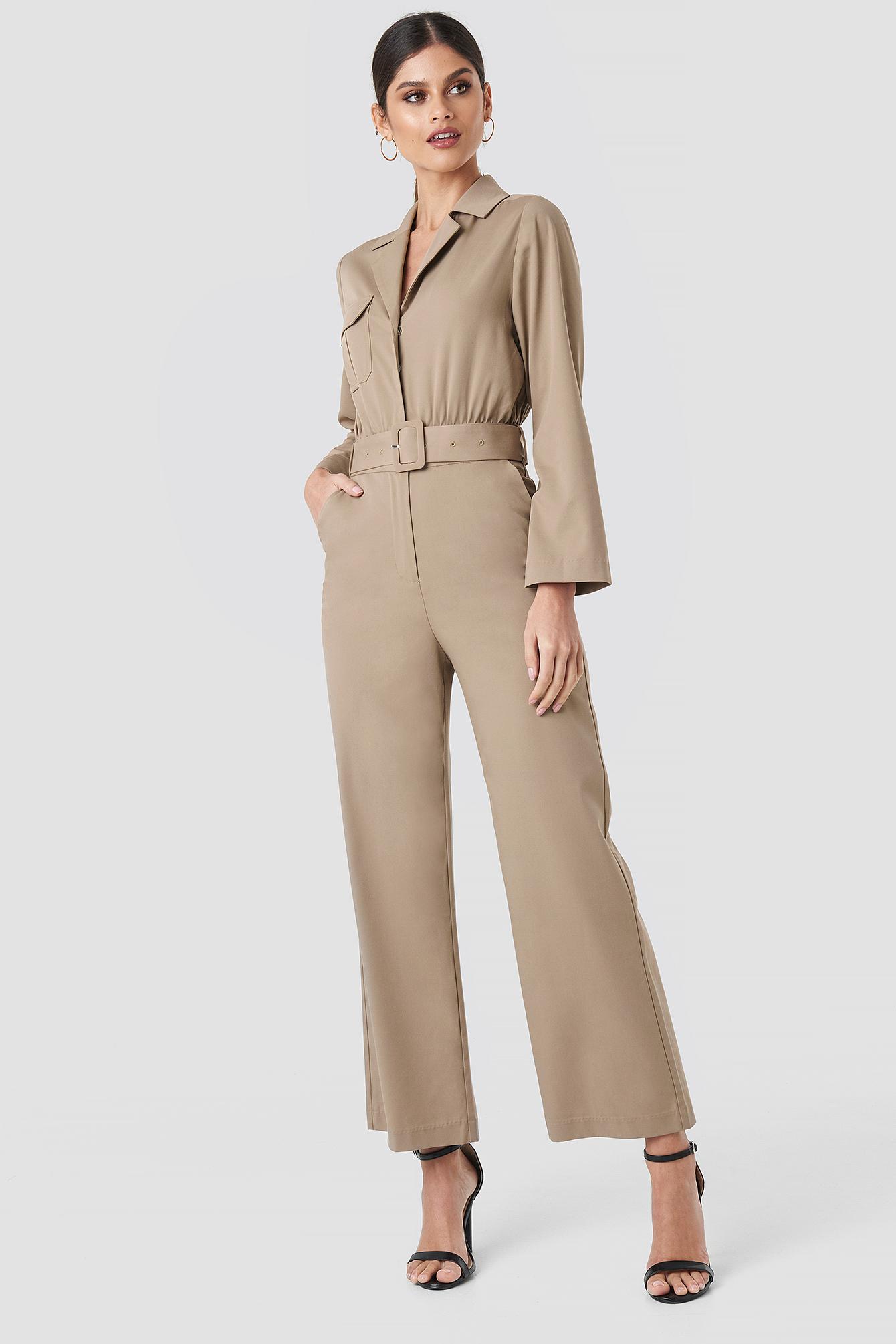 Front Pocket Jumpsuit NA-KD.COM