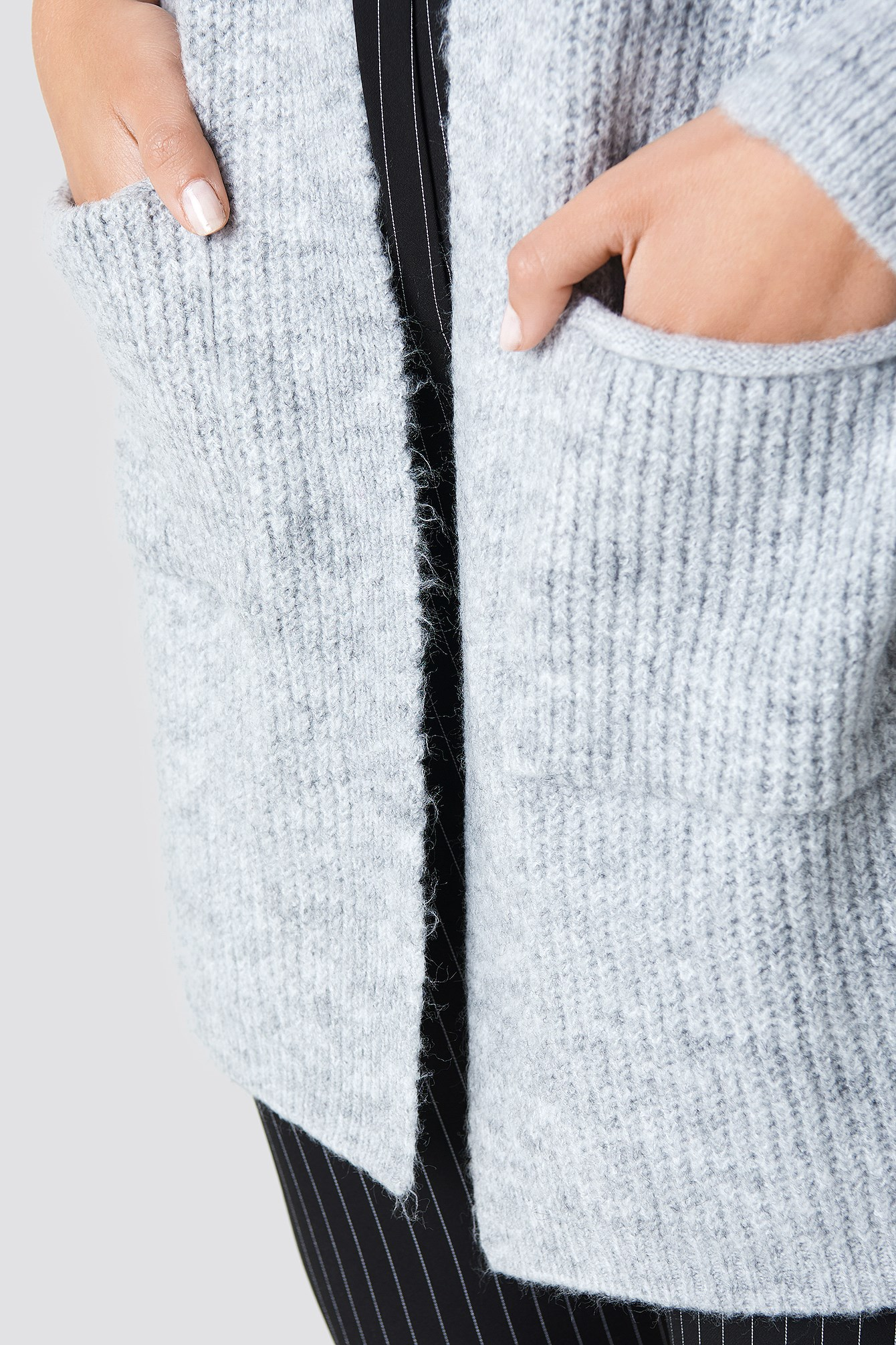 Front Pocket Knitted Cardigan NA-KD.COM