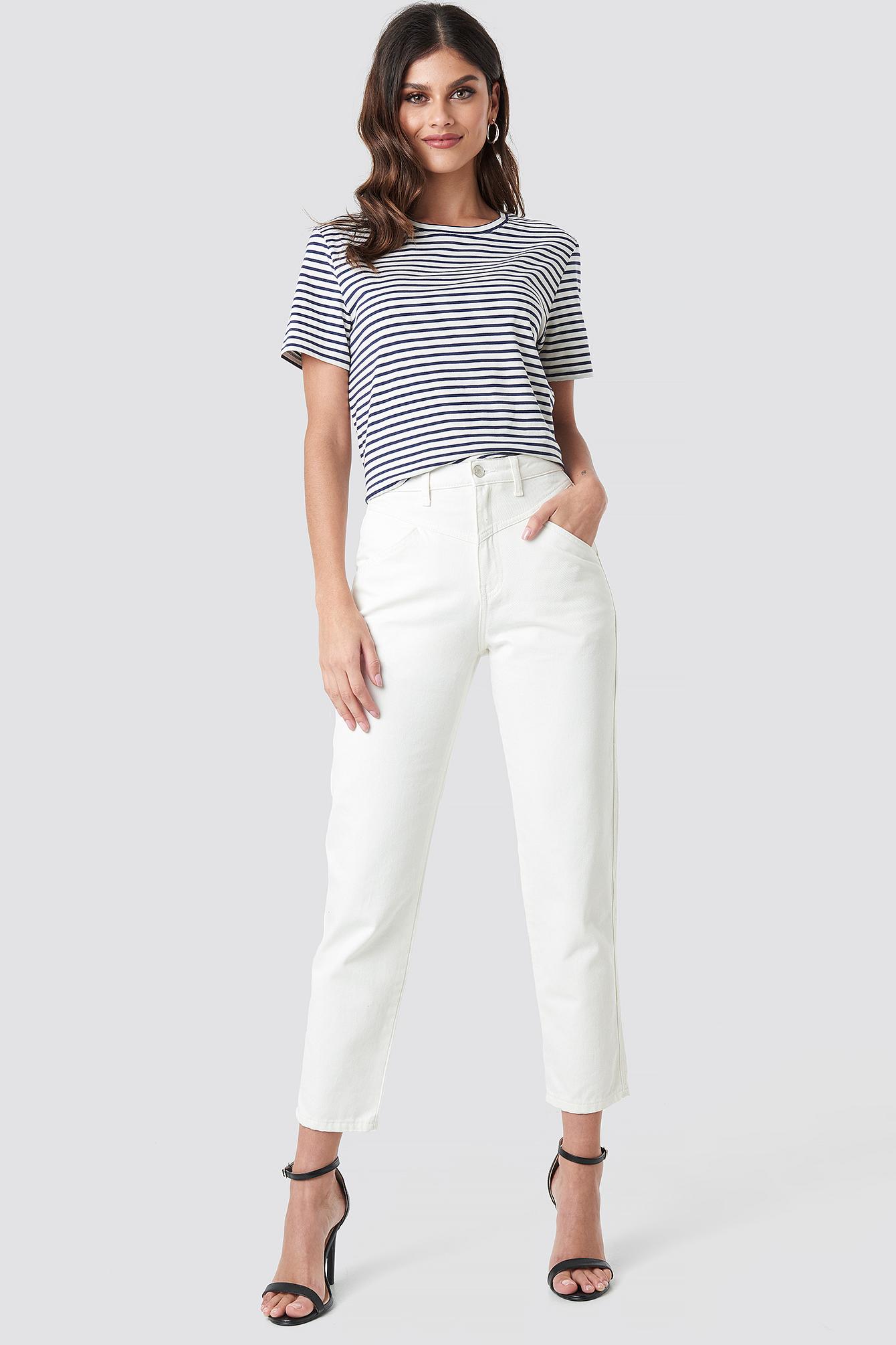 Front Yoke Jeans NA-KD.COM