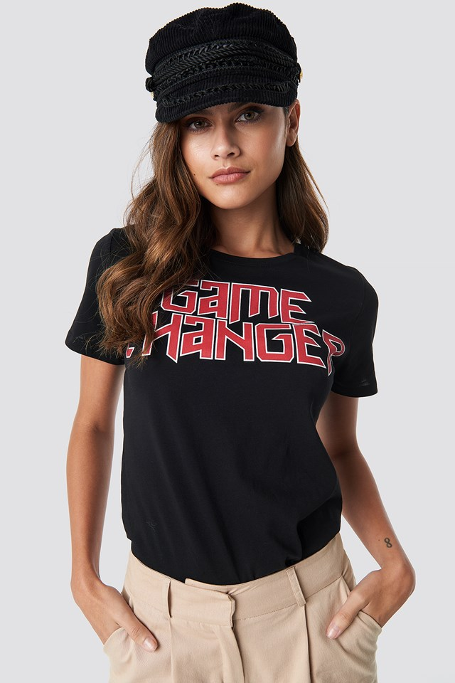 Game Changer Tee Black/Red