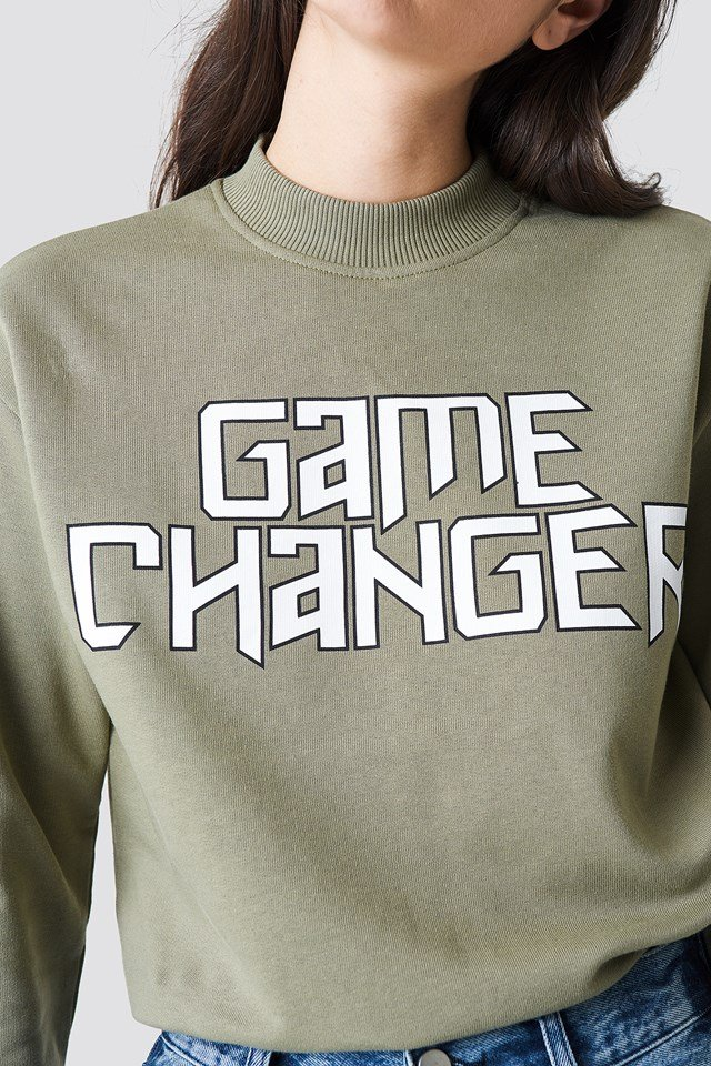 Game Changer Sweater Khaki