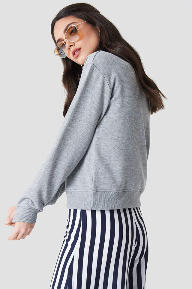 Game Changer Sweater Grey Melange