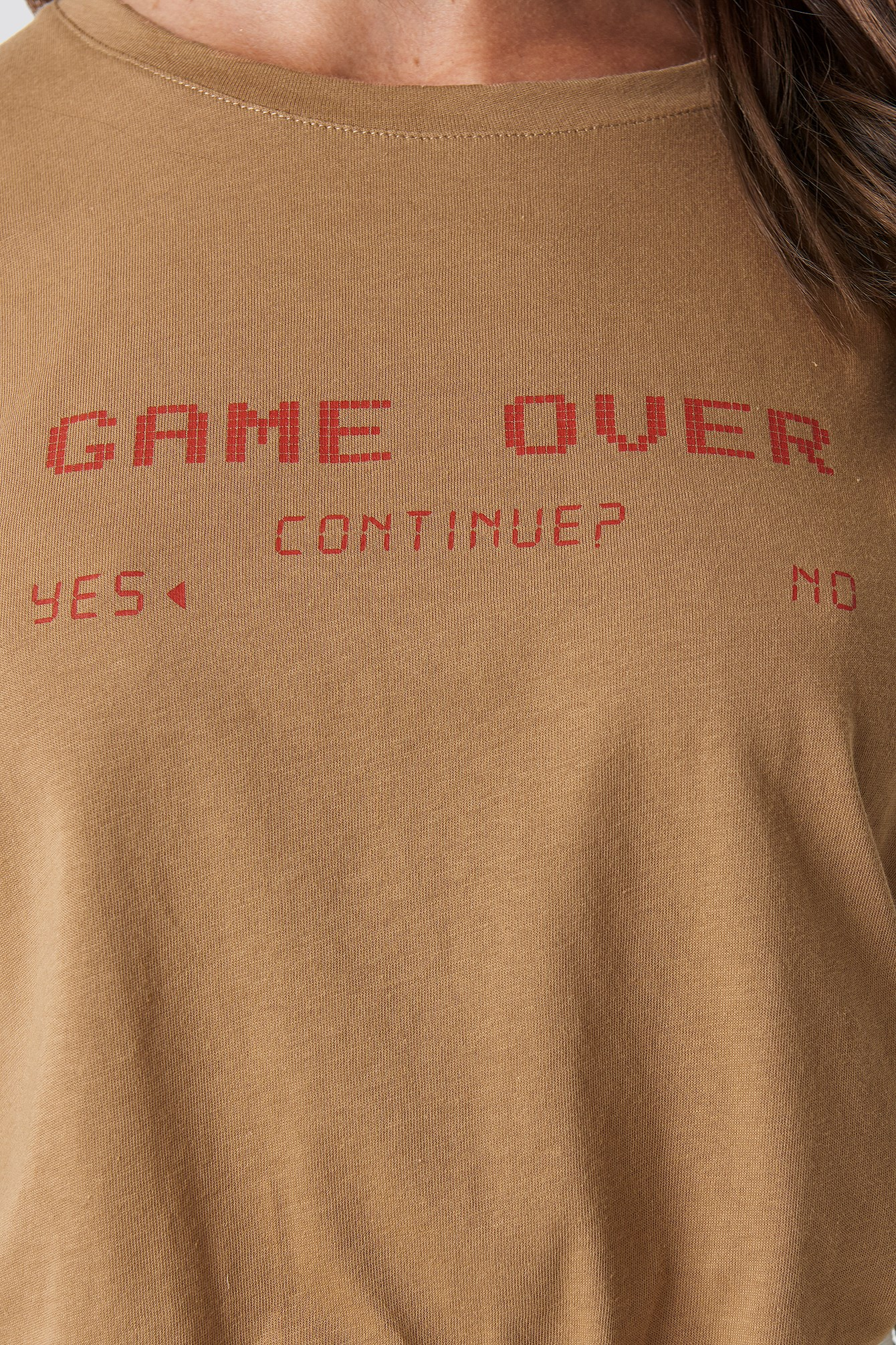 T-shirt oversize Game Over NA-KD.COM