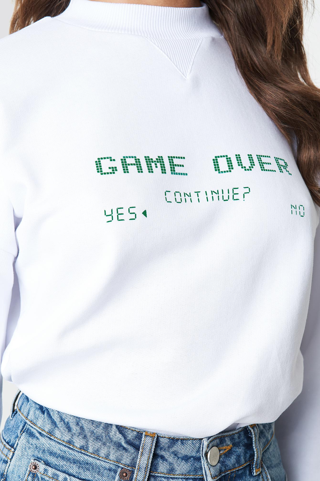 Game Over Sweatshirt NA-KD.COM